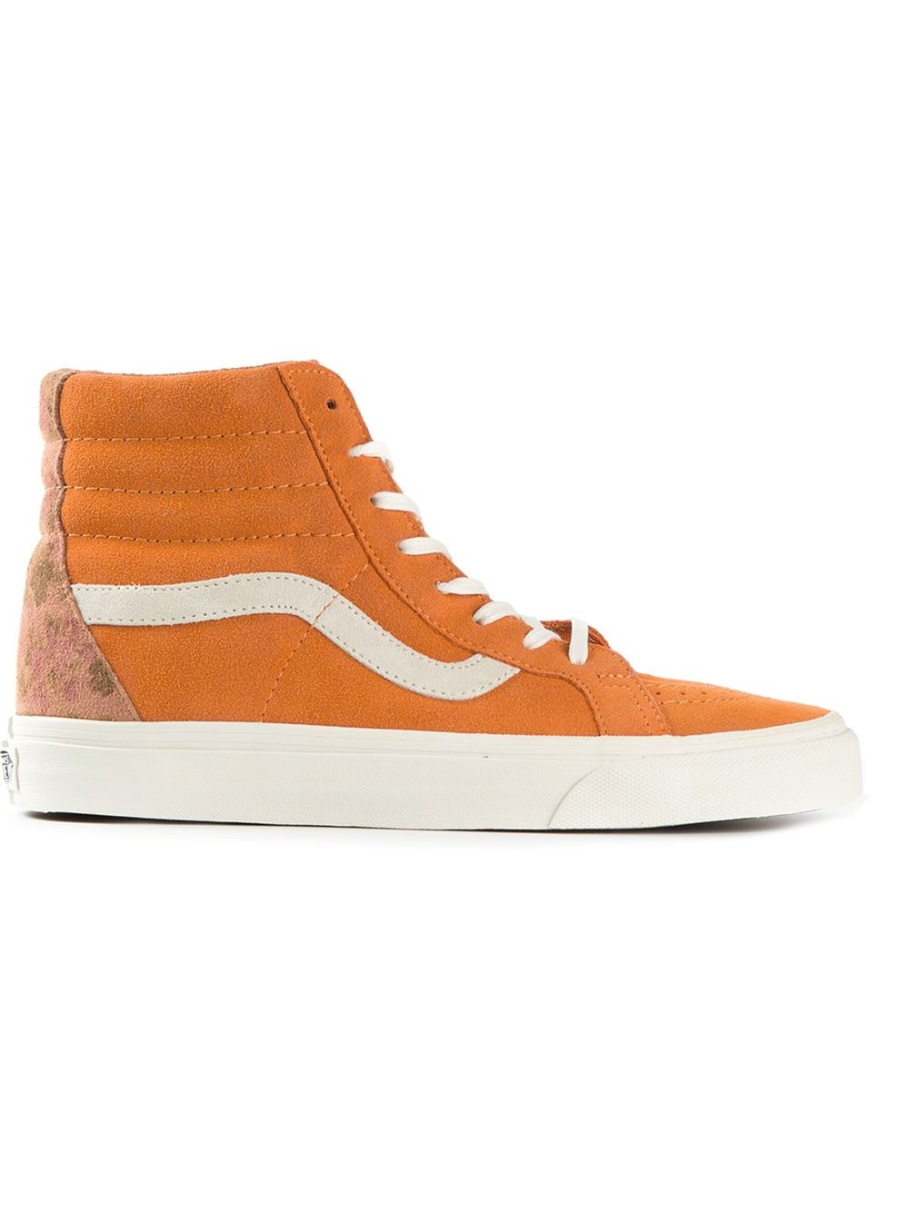 4054fcb4fda Vans  sk8 Hi Reissue  Sneakers in Yellow for Men - Lyst