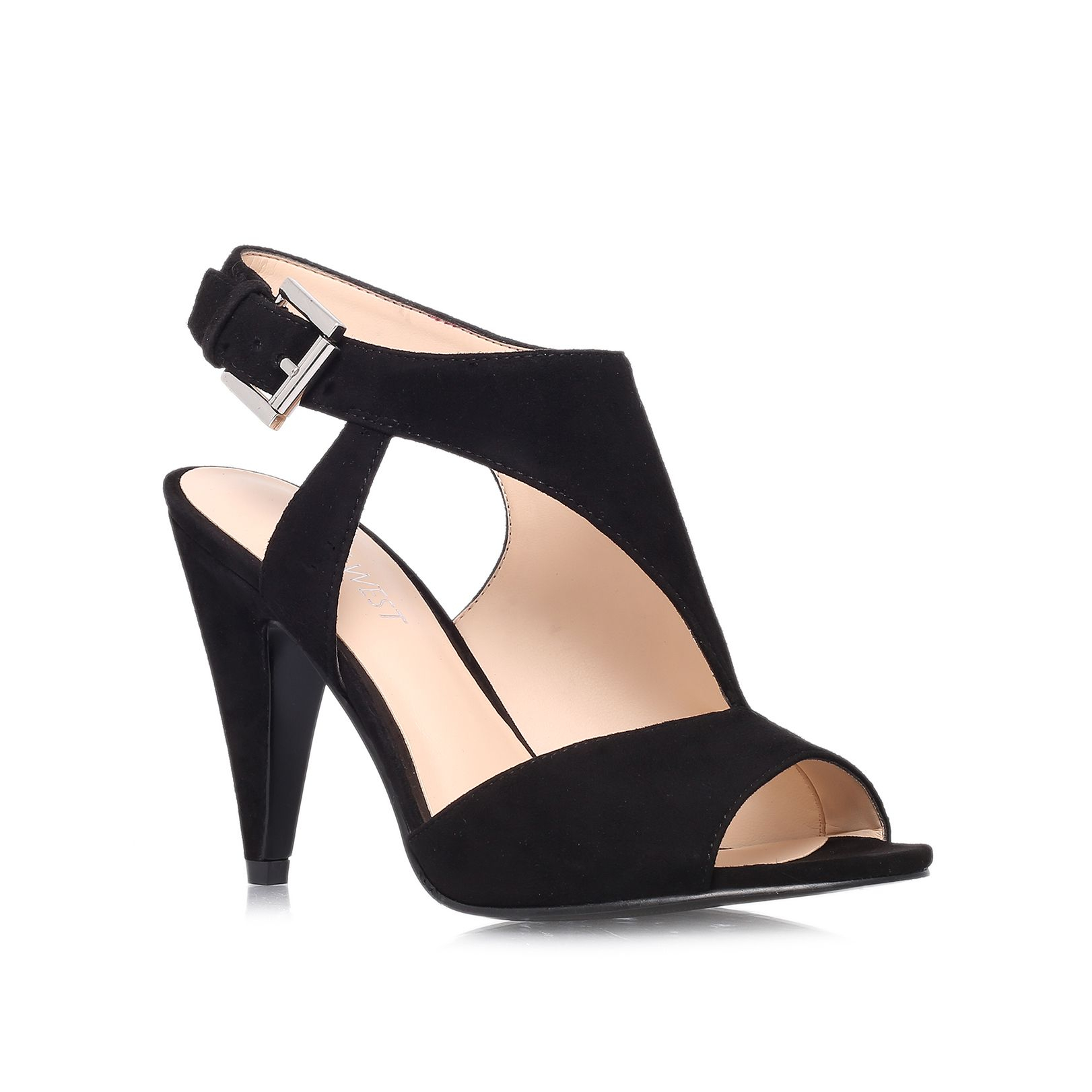 nine west shapeup high heel court shoes in black lyst