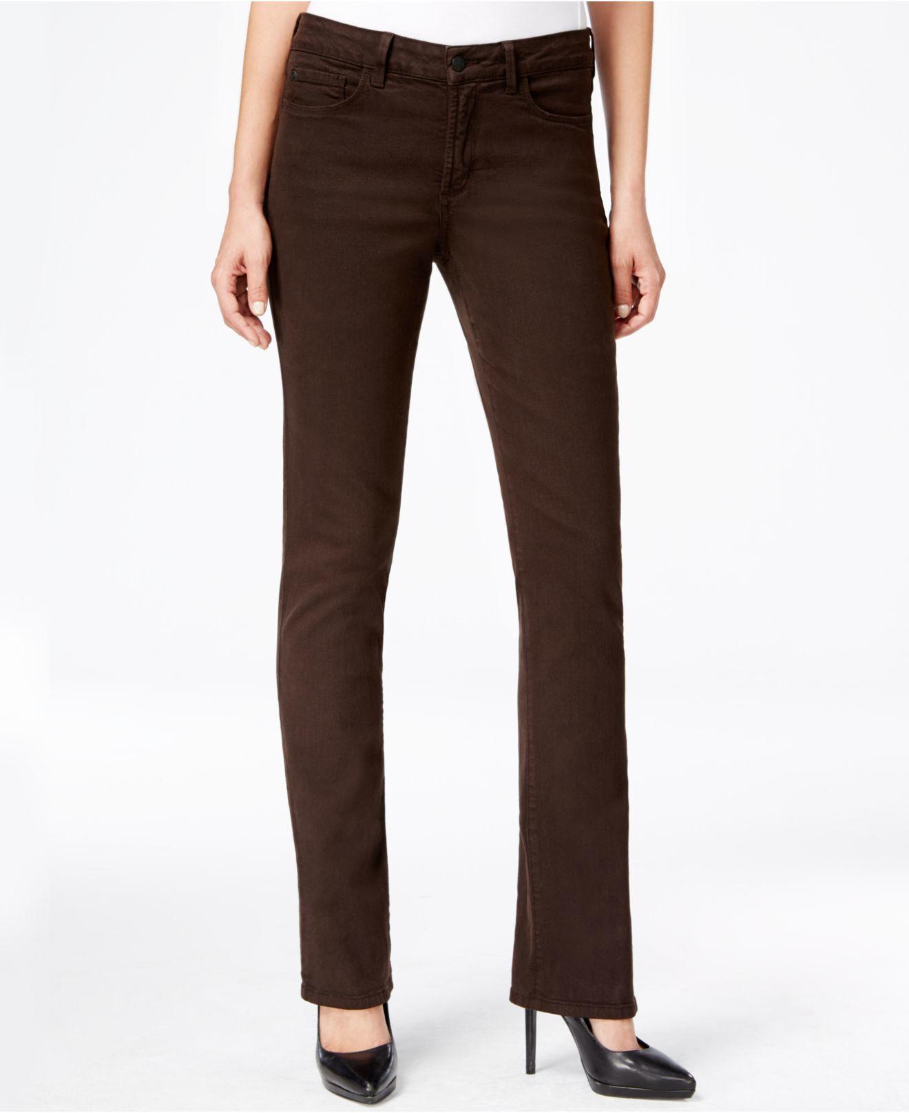 Brown Bootcut Jeans Ye Jean