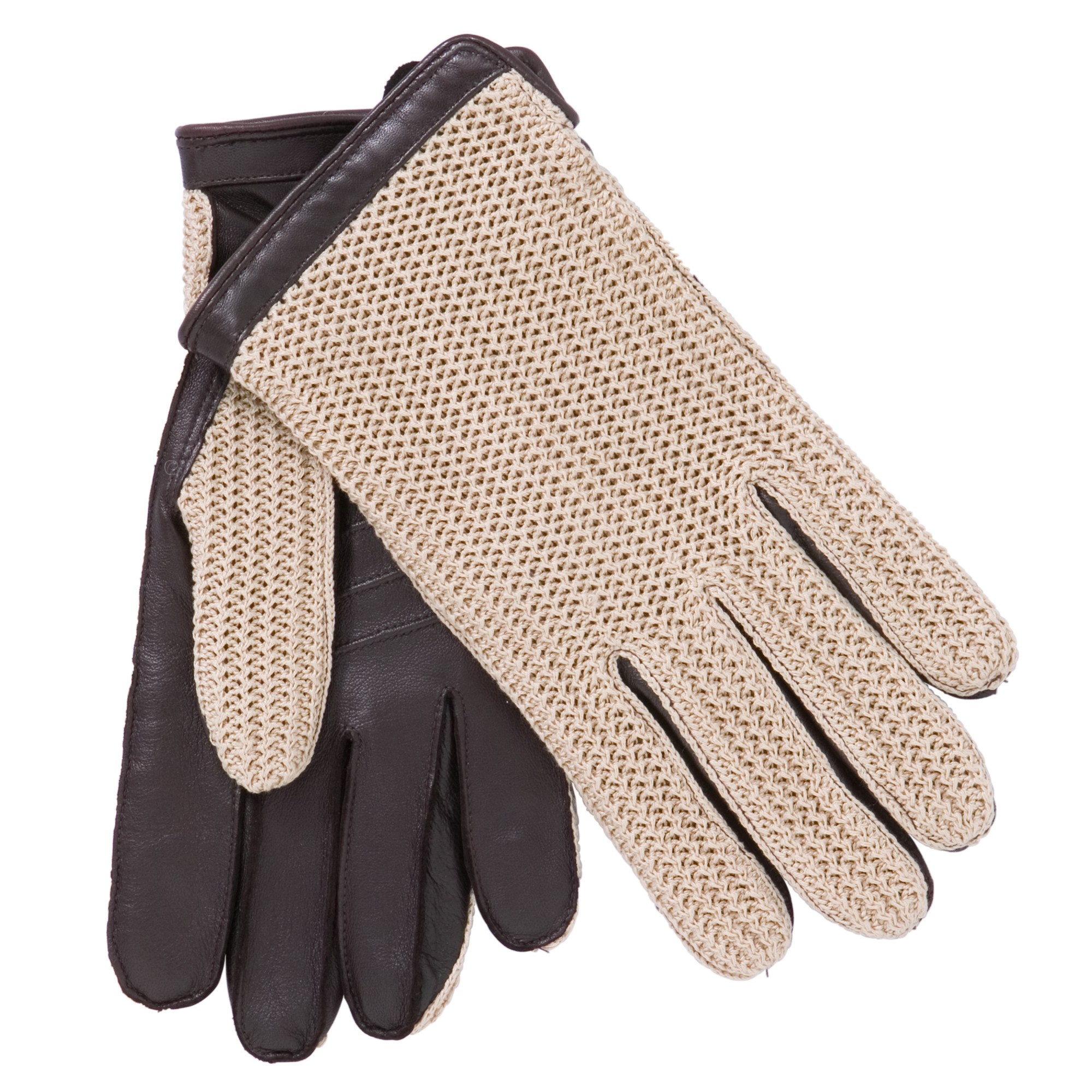 John lewis ladies black leather gloves -  String Back Driving Gloves Uk Gloves