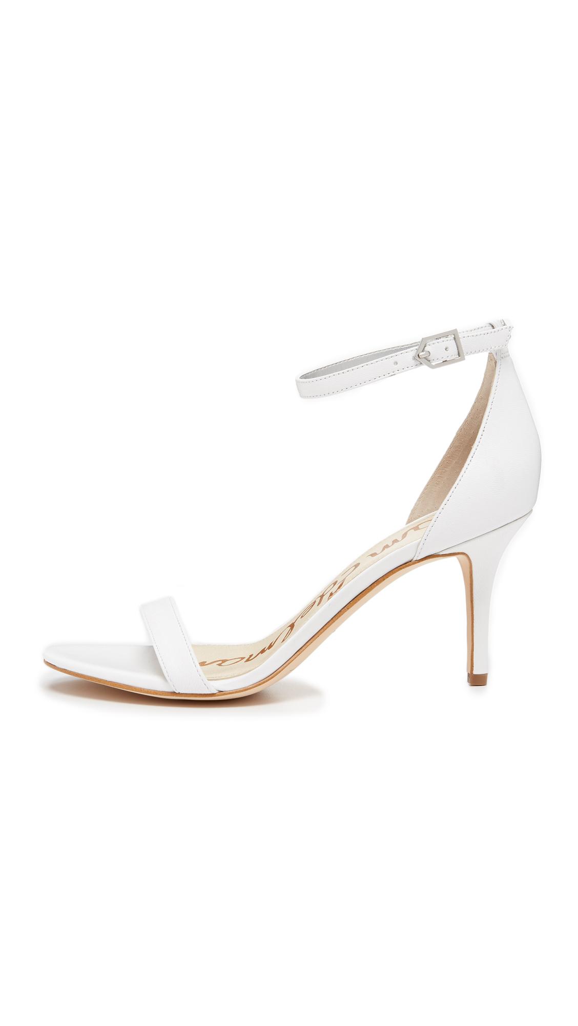 05f0eeaeea1 Lyst - Sam Edelman Patti Sandals in White