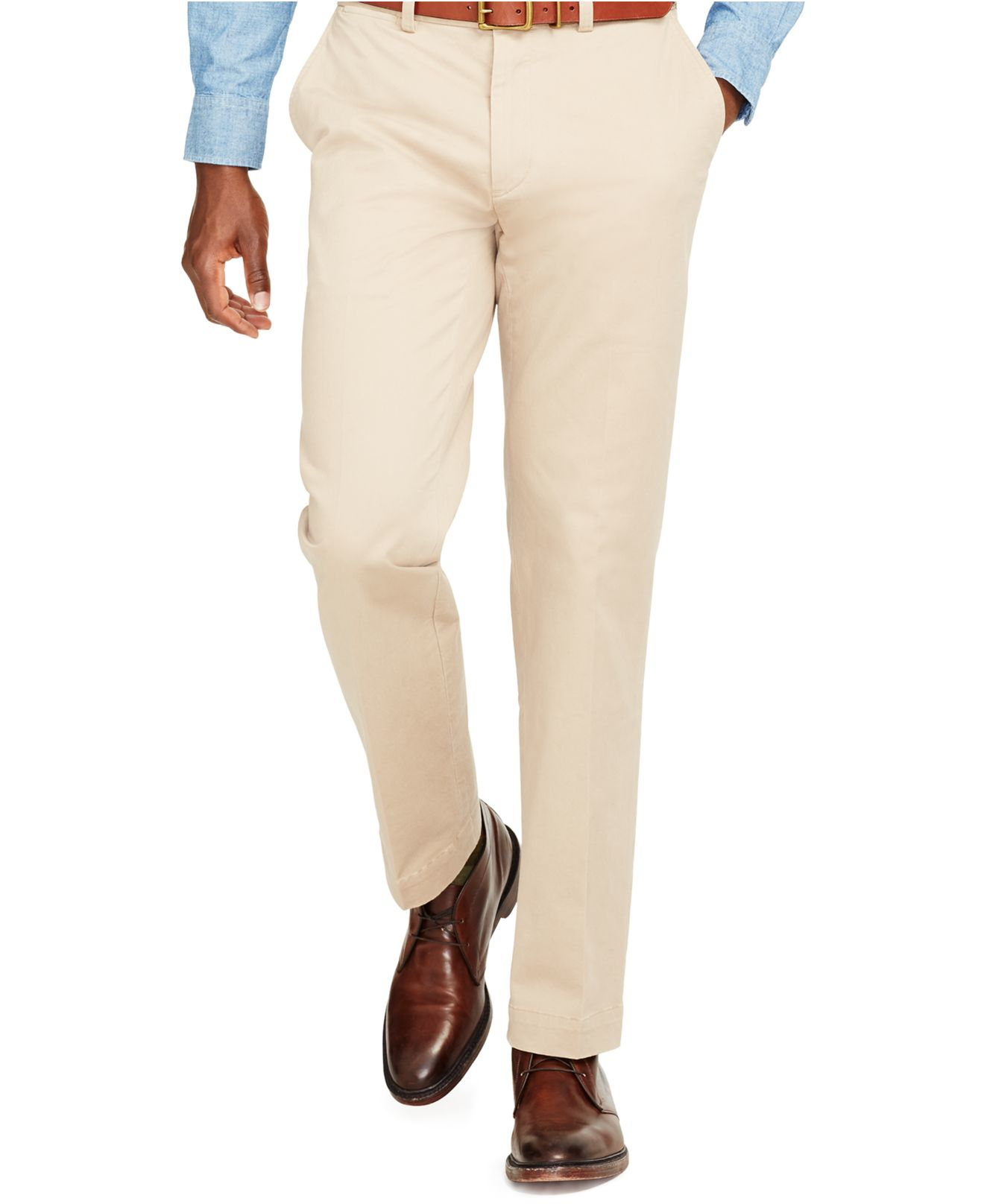 da108b4c8 Polo Ralph Lauren Classic-fit Suffield Stretch-chino Pants in ...