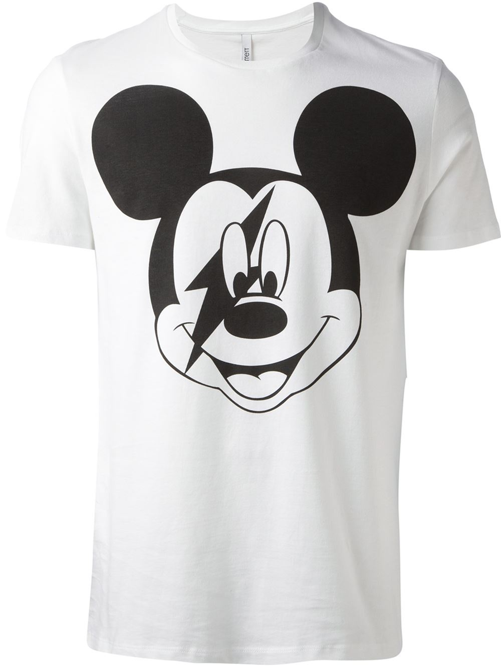 eb5c893e Neil Barrett Mickey Mouse Tshirt in White for Men - Lyst