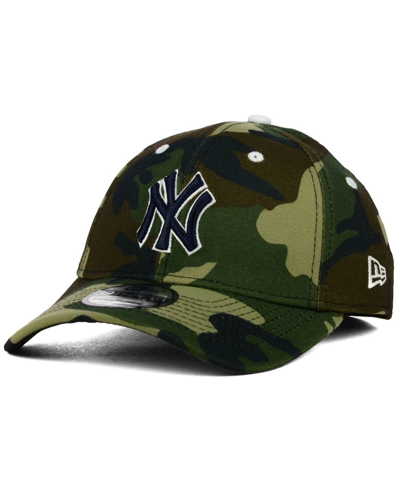 Lyst - KTZ New York Yankees Camo Classic 39thirty Cap in Green for Men b7572616e2d