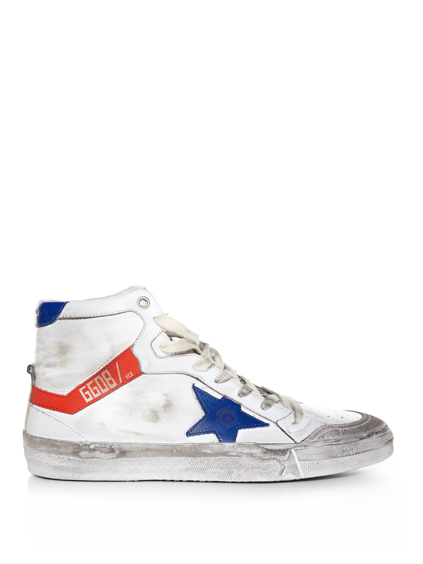 Lyst Golden Goose Deluxe Brand 2 12 High Top Leather