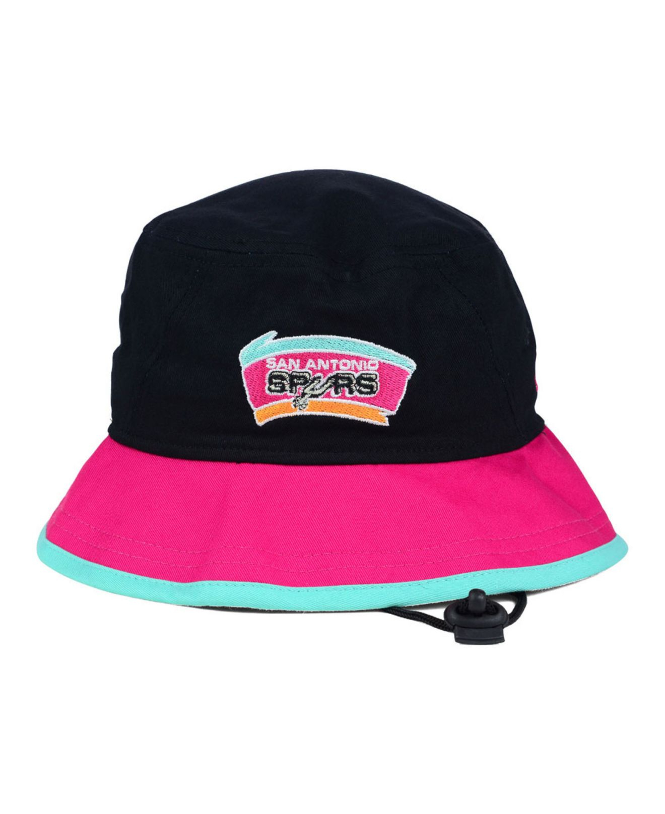 online store 3dc01 ca8ad KTZ San Antonio Spurs Black-top Bucket Hat in Blue for Men - Lyst