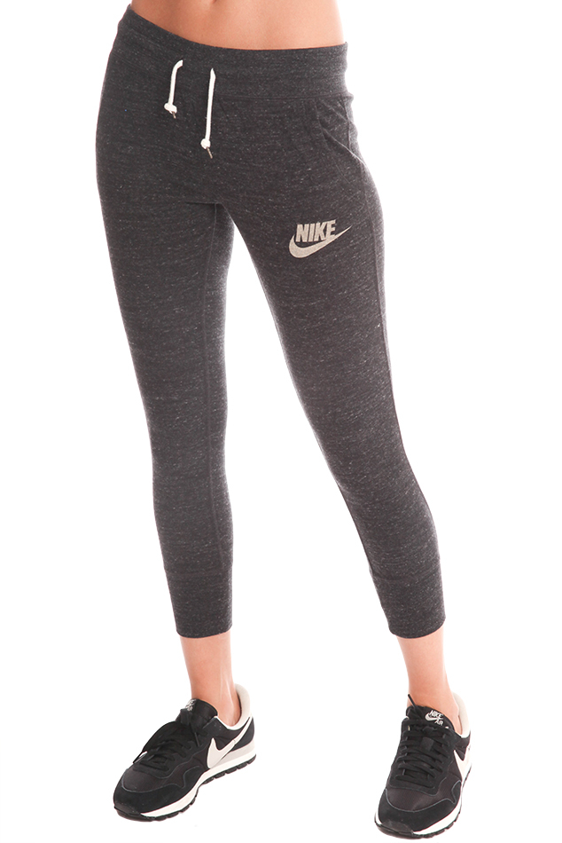 Perfect Nike Logo Sweatpants In Gray Grey  Lyst
