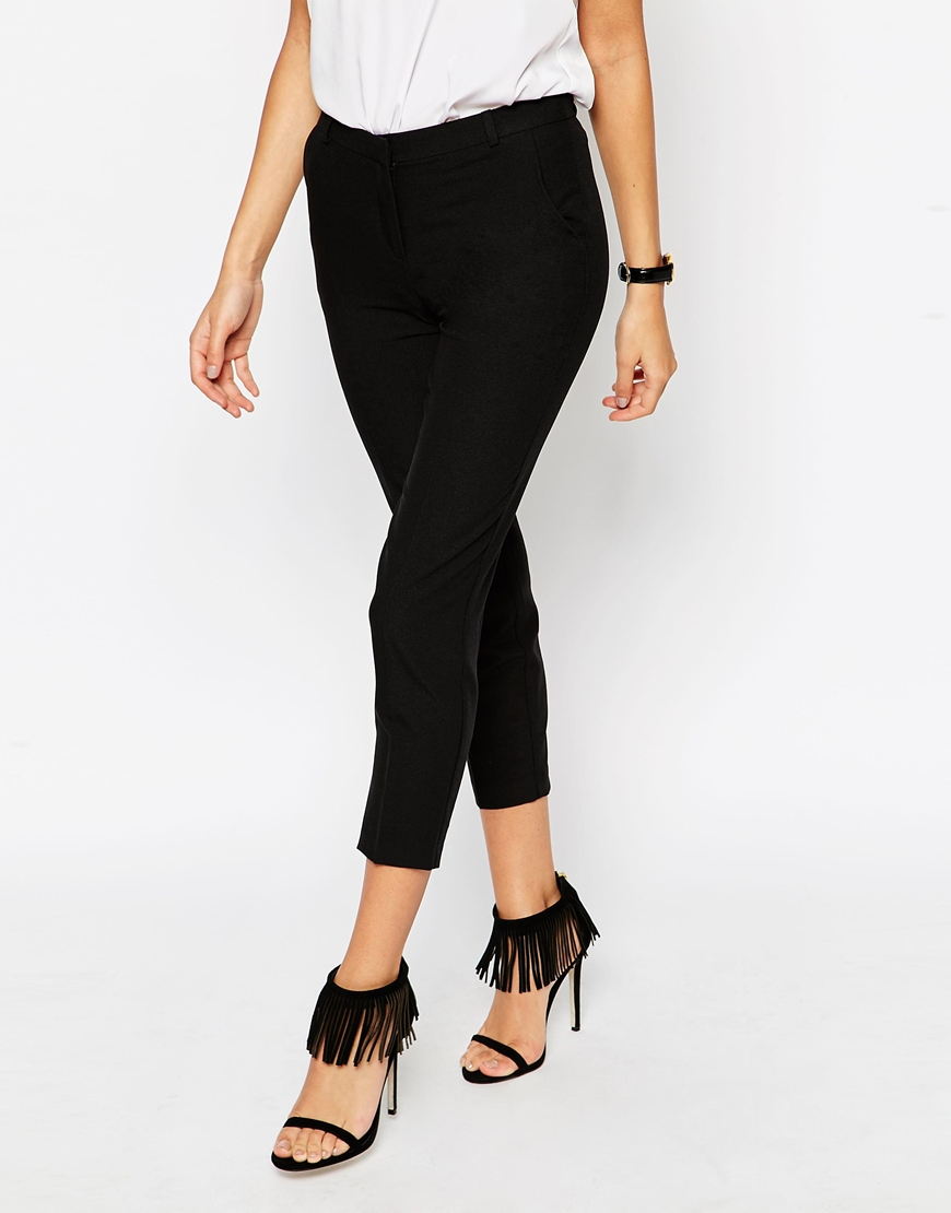 Sale High Quality Outlet Looking For Ultimate Ankle Grazer Trousers - Black Asos Petite Outlet Clearance Outlet Many Kinds Of FacrHlWx