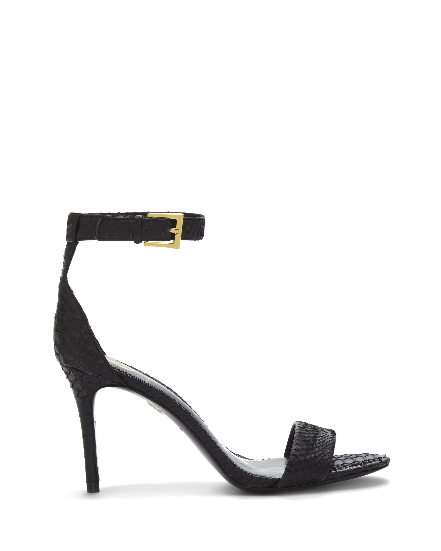 45c718f1c0a Lyst - Vince Camuto Vc Signature Jiro - Snakeskin High Heel Sandal ...
