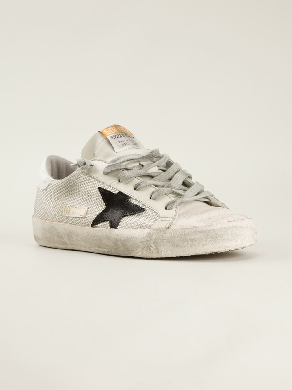 Golden Goose Deluxe Brand star patchwork sneakers clearance 2014 new gWwDHXg9