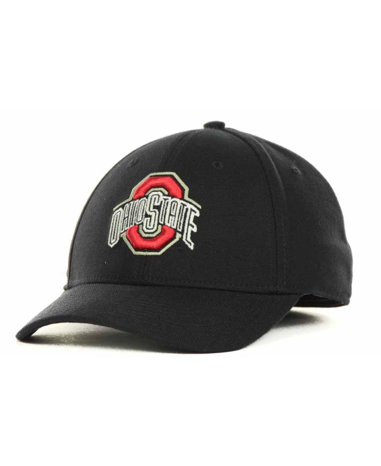 10087c7471958f Nike Ohio State Buckeyes Drifit Swoosh Flex Cap in Black for Men - Lyst