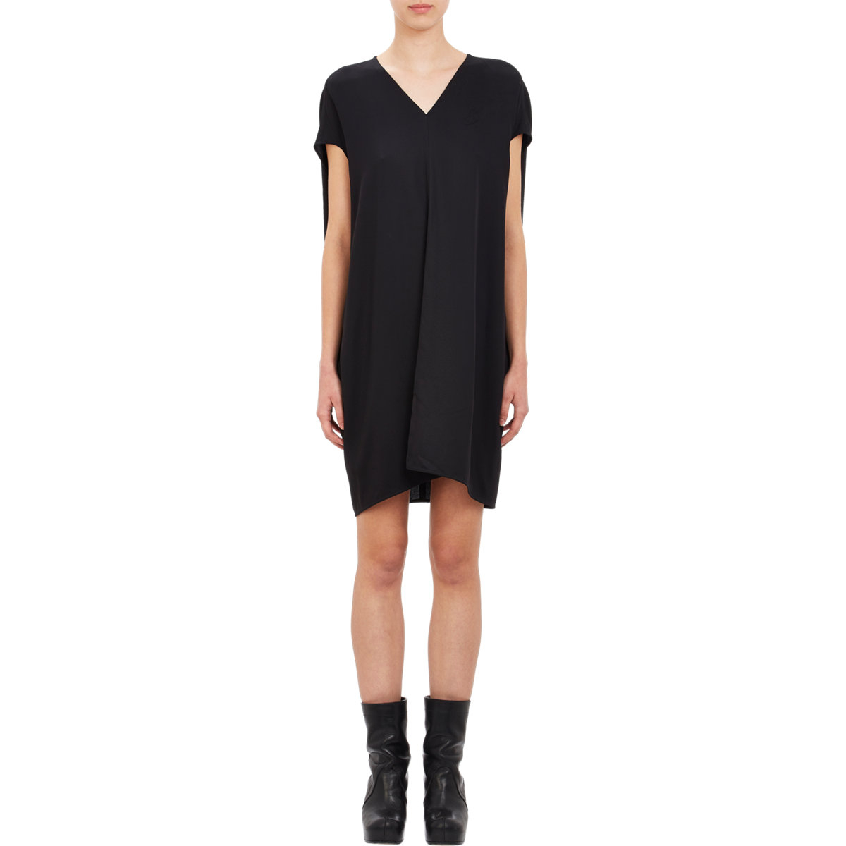Rick Owens slash neck dress Geniue Stockist New Arrival Fashionable Sale Online hmbeTK