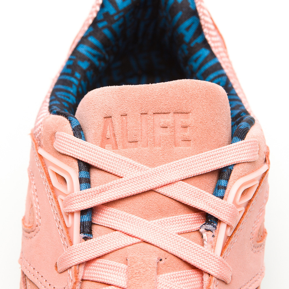 17f1a575a89b87 Lyst - PUMA R698 X Alife Paneled Low-Top Sneakers in Pink for Men