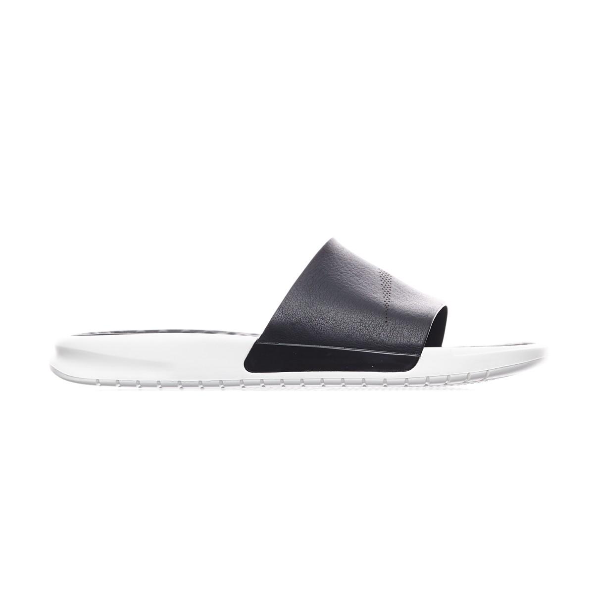 0b2c65bf63a66 Lyst - Nike Benassi Lux Slides Qs in Black for Men