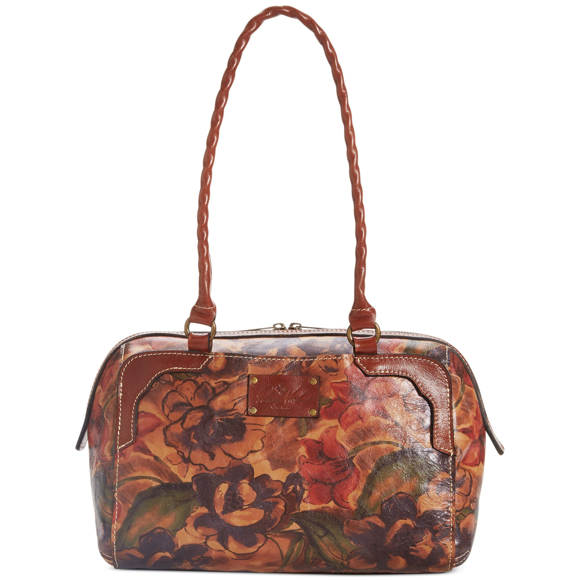 Patricia Nash Andria Floral Embossed Cross Body Bag In