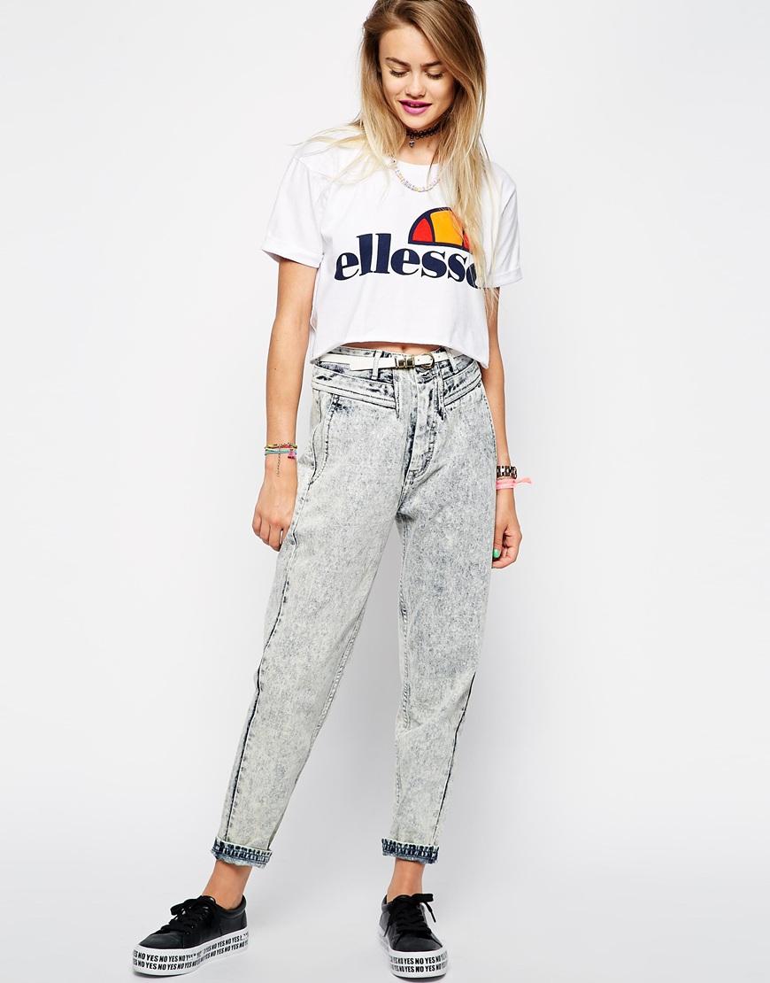 Ellesse t shirt white womens - Gallery