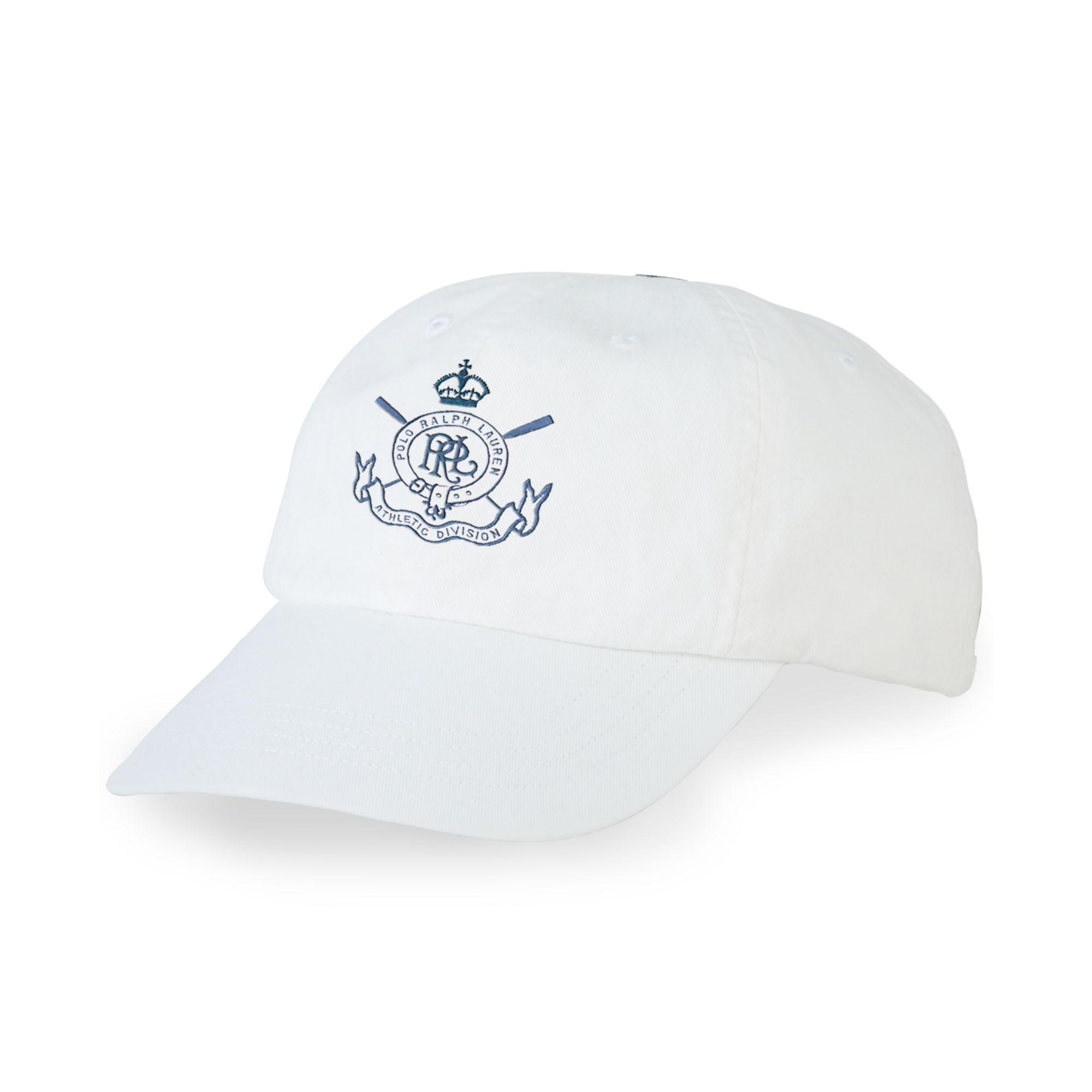 ralph lauren polo sag harbor chino cap in white for men lyst. Black Bedroom Furniture Sets. Home Design Ideas