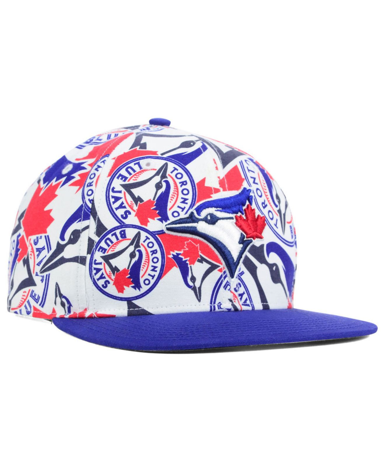 d0087547fd5fb ... hats new york mlbpersonalized 3a870 3440e  inexpensive lyst 47 brand  toronto blue jays snapback cap in white for men d3044 5812c