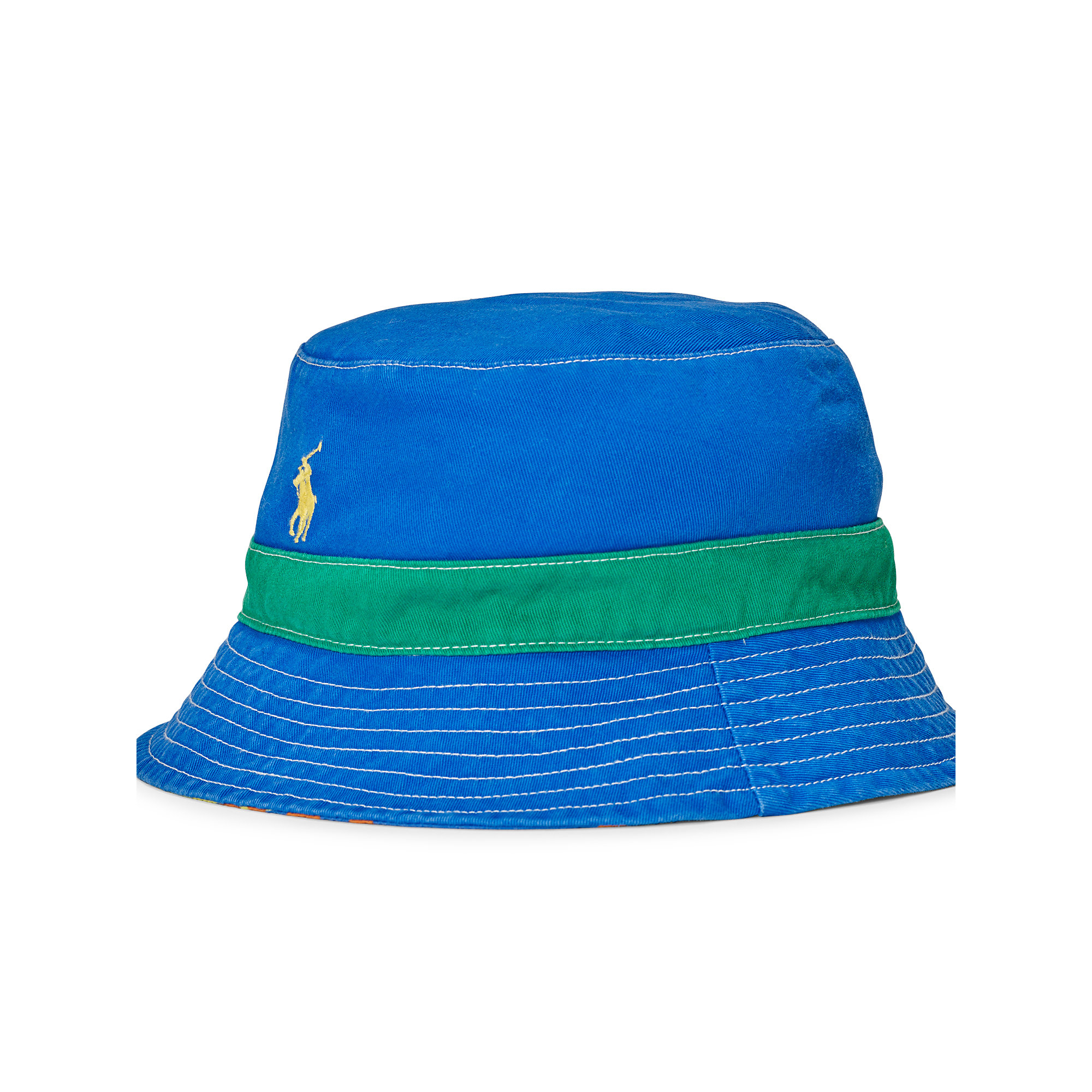 f170790bf7cfa Lyst - Polo Ralph Lauren Reversible Twill Bucket Hat for Men