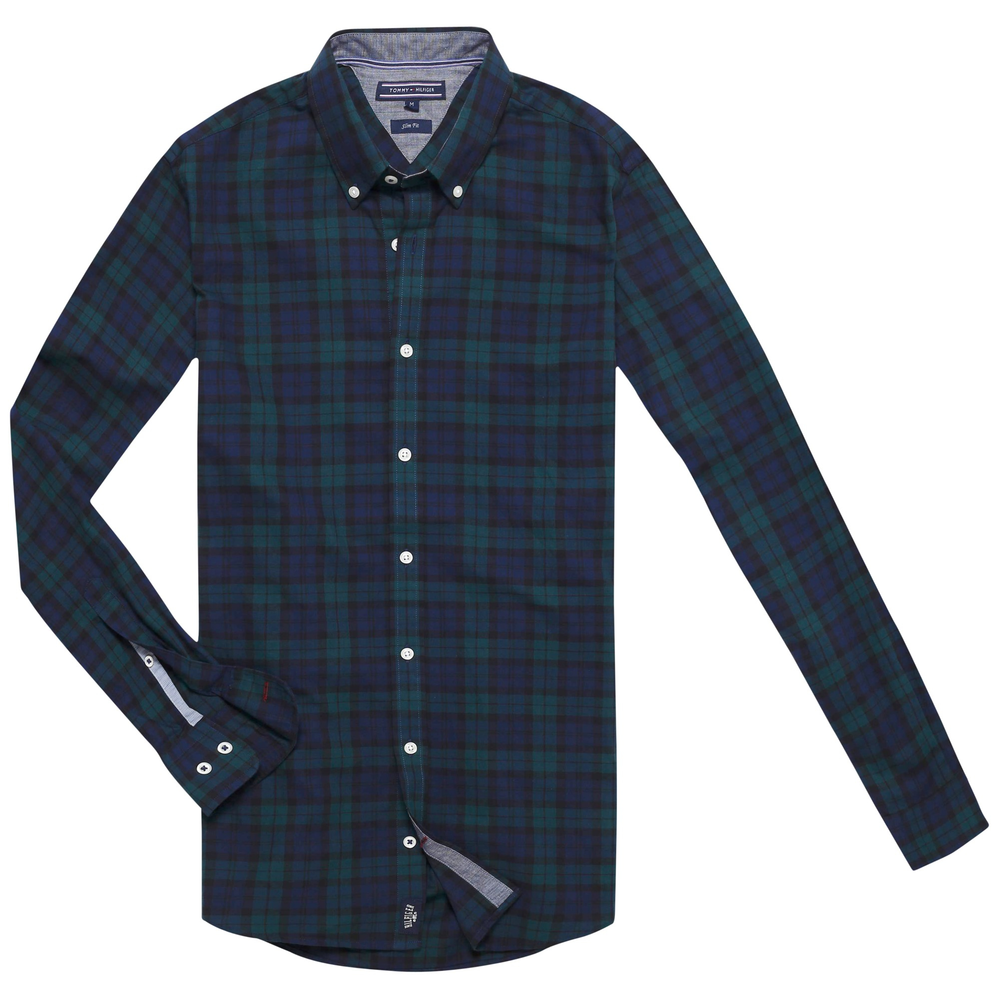 Tommy hilfiger Blackwatch Check Shirt in Blue for Men