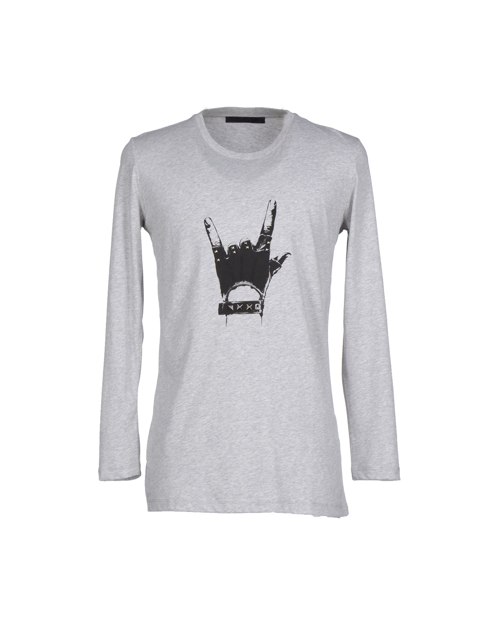 karl lagerfeld t shirt in gray for men lyst. Black Bedroom Furniture Sets. Home Design Ideas