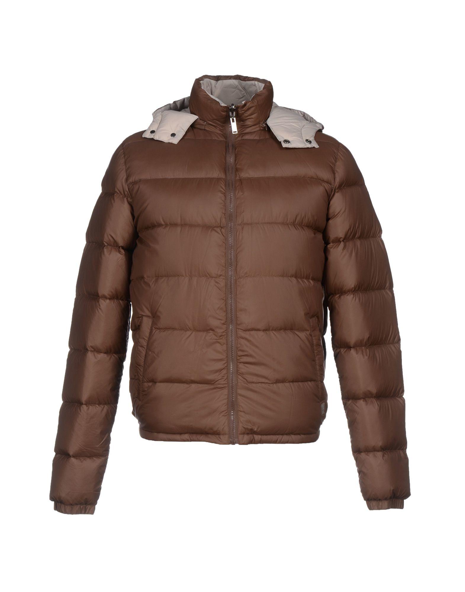 Liu jo Down Jacket in Brown for Men   Lyst