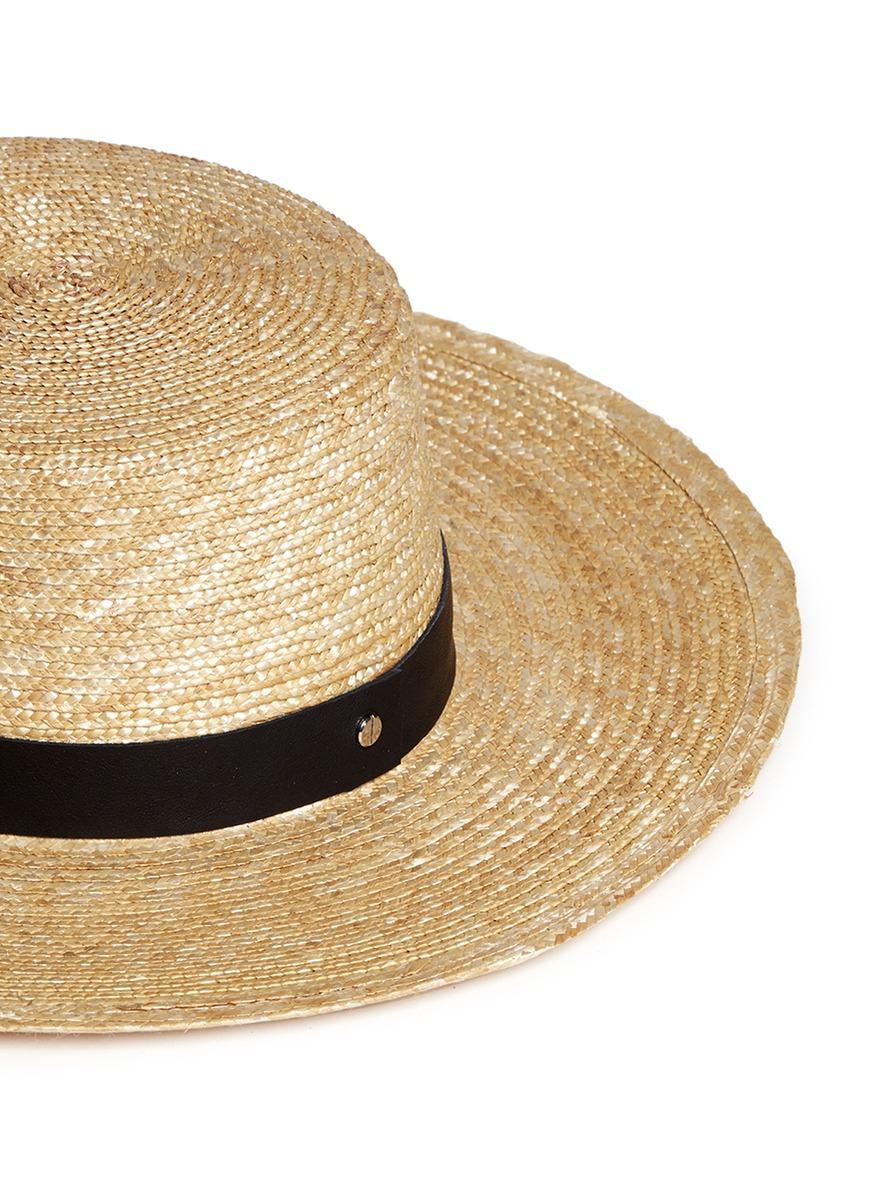 Klint Hat in Neutrals Janessa Leon AIOQ9fzJ8