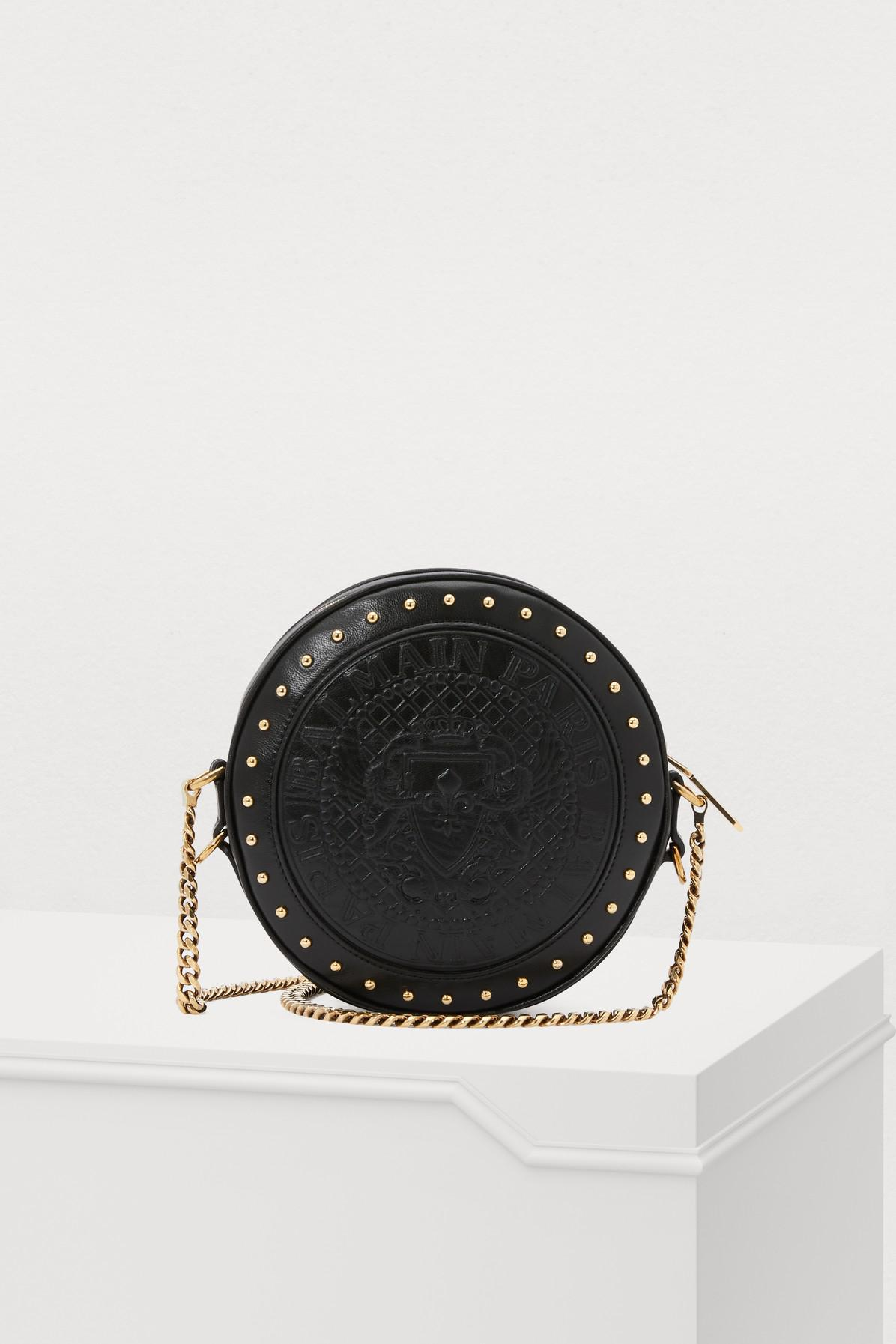 15e5ca3d981 Balmain - Black Disco Crossbody Bag - Lyst. View fullscreen