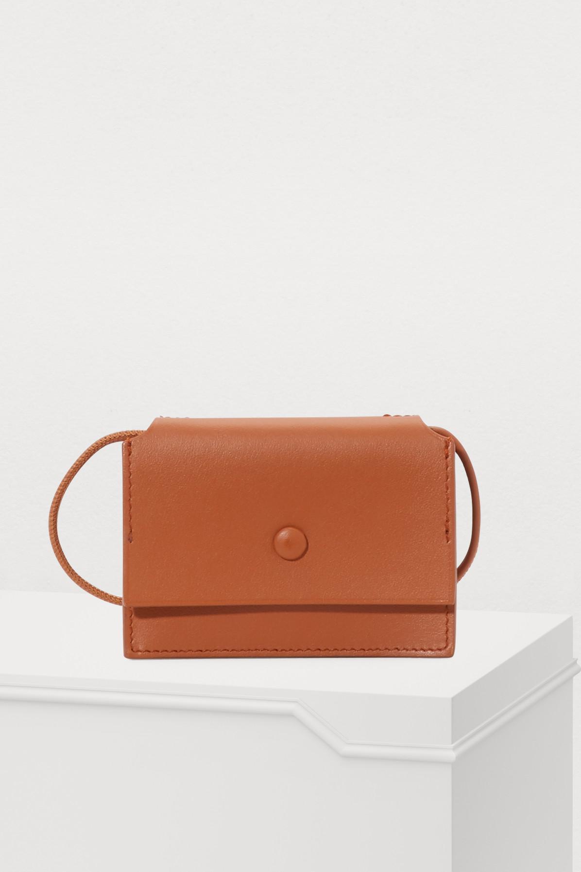 02b334e261960 Lyst - Acne Studios Mini Crossbody Bag in Brown