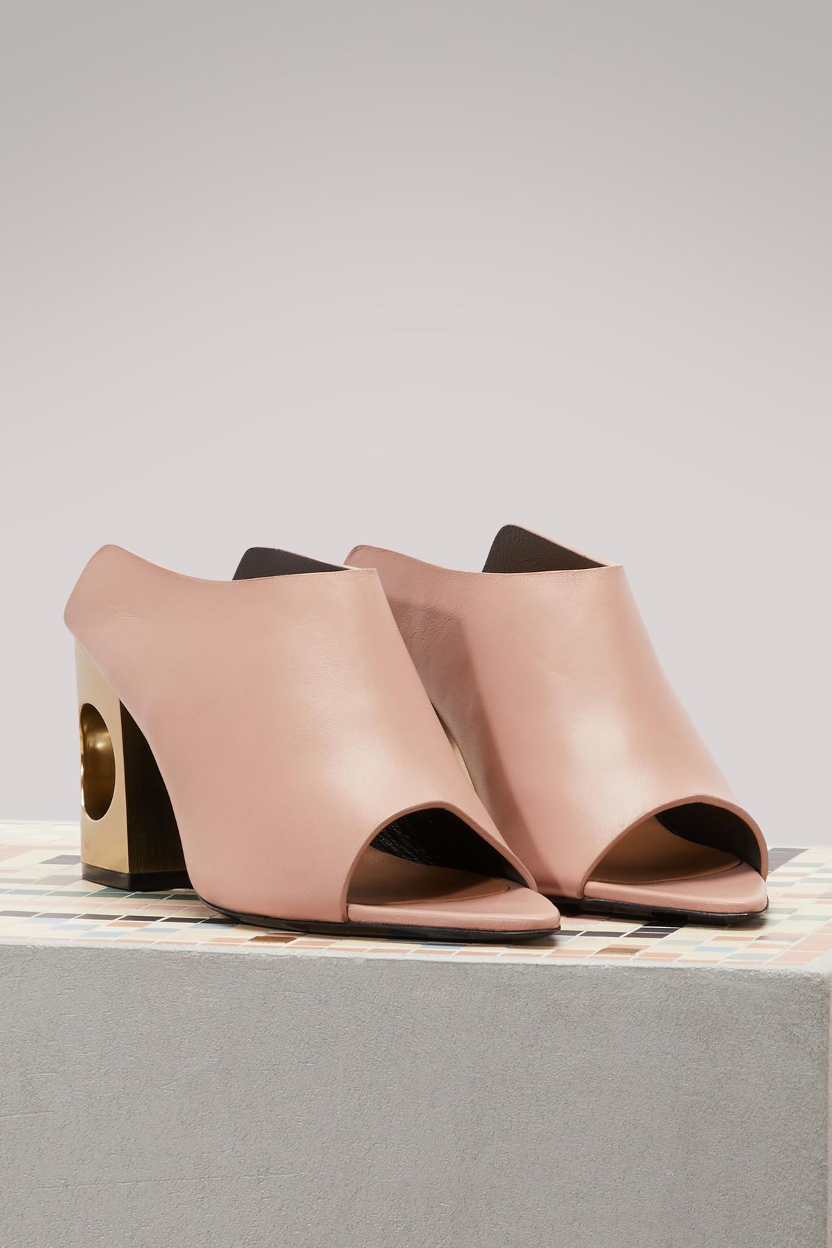 COLIAC Zack leather sandals with heels 4IpwwXc