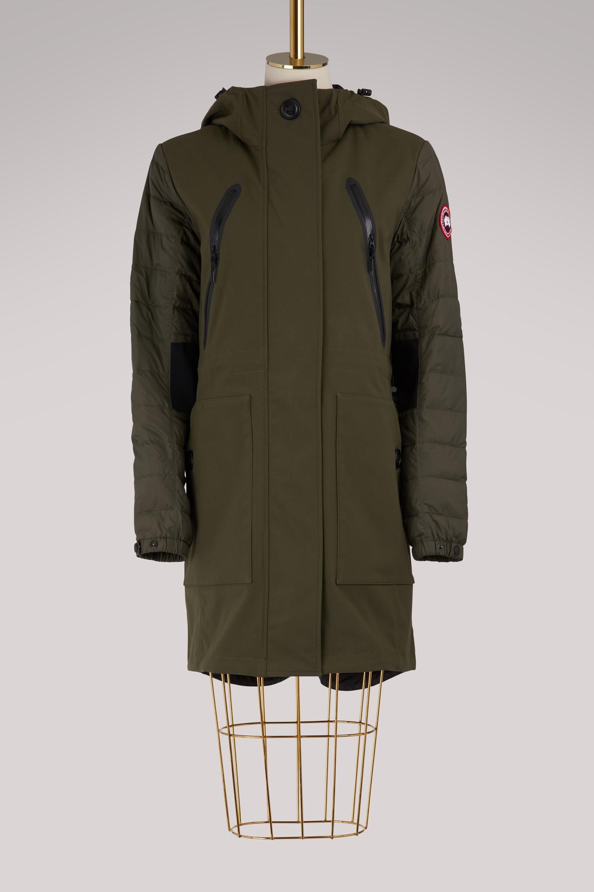 Canada Goose. Women's Green Sabine Coat