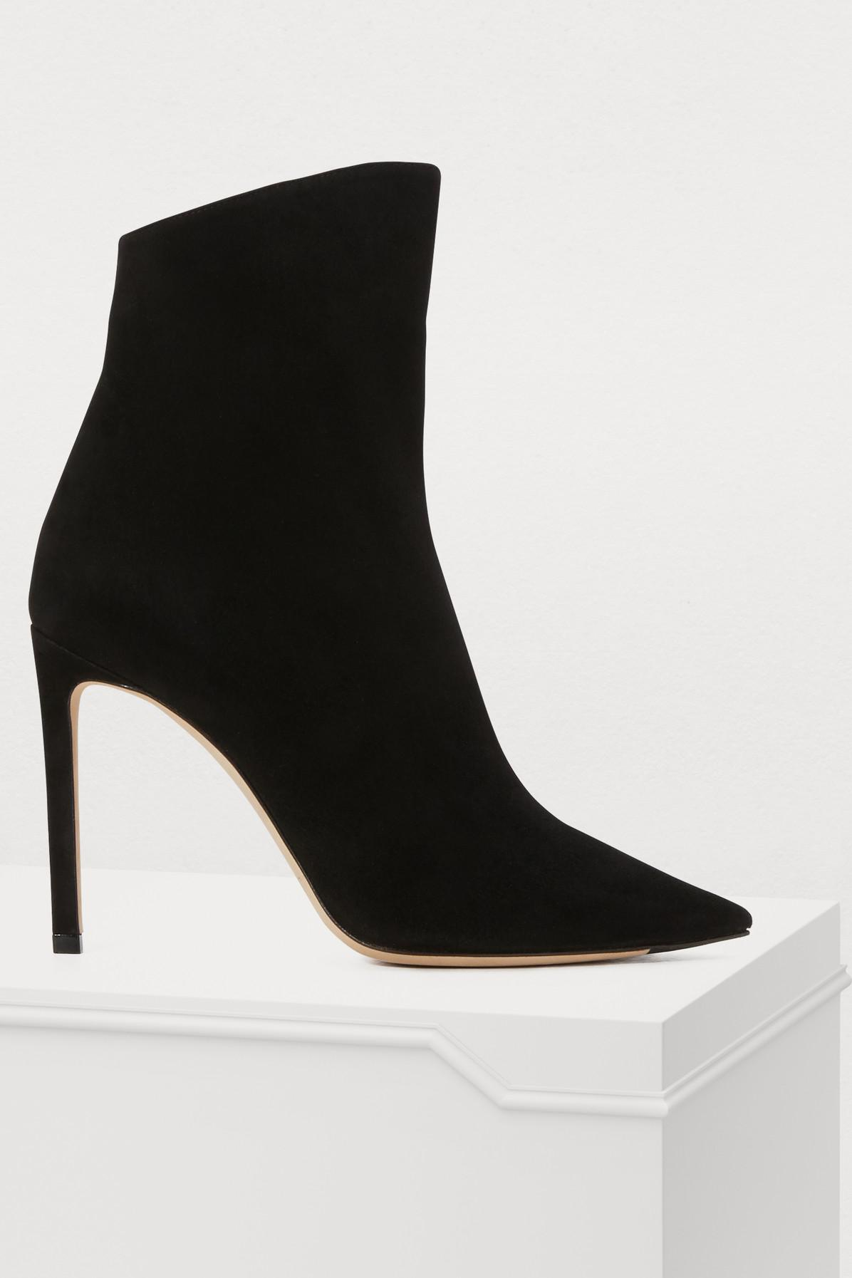b61c62df0670 Jimmy Choo Helaine 100 Ankle Boots in Black - Lyst