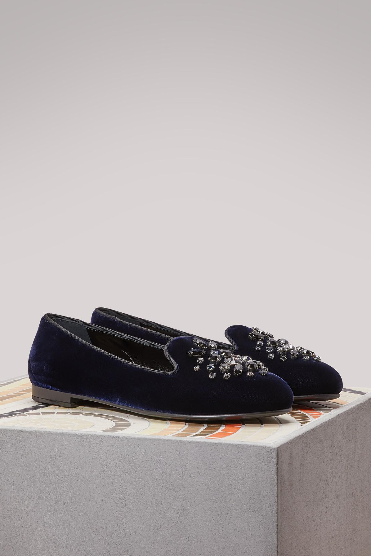 Church's Neve velvet loafers vlNx5