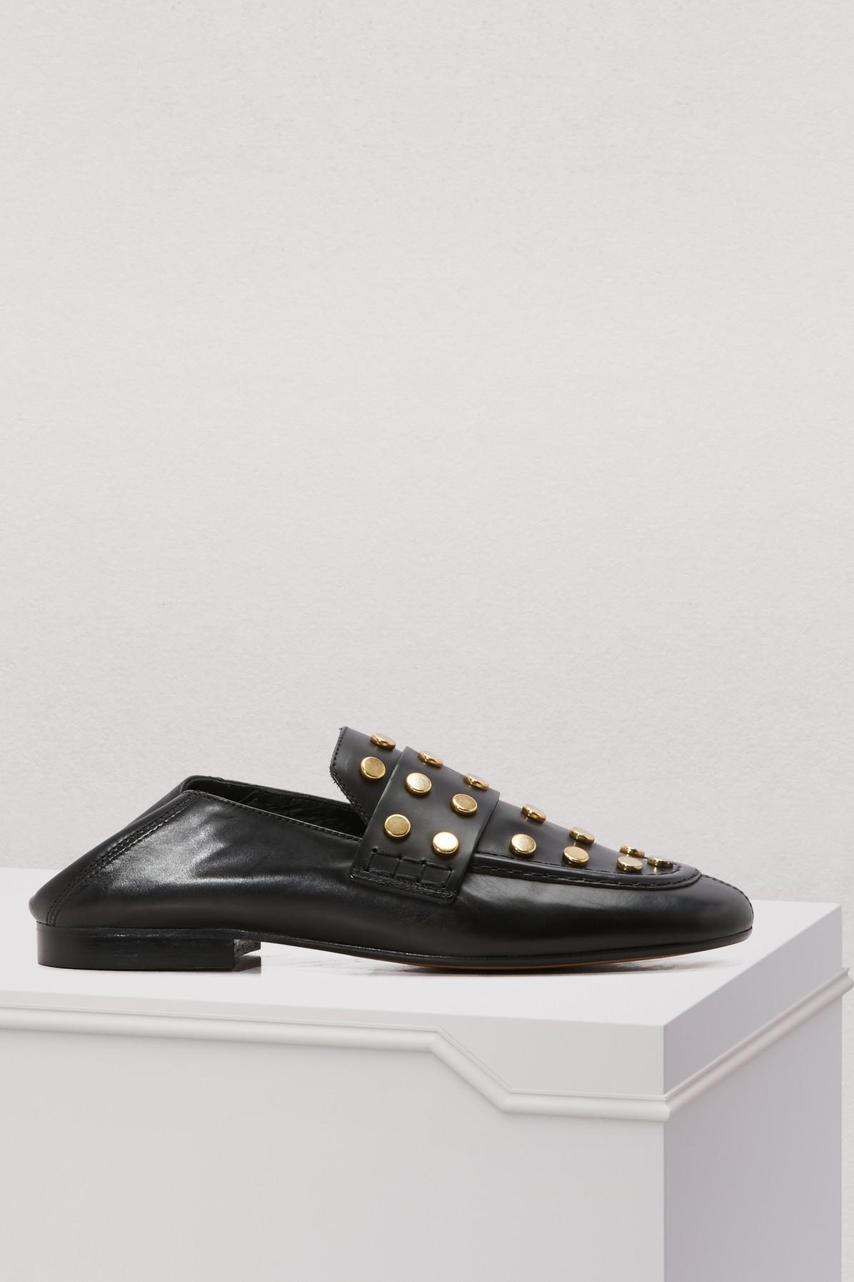 Feenie loafers - Black Isabel Marant 4HblsBQn
