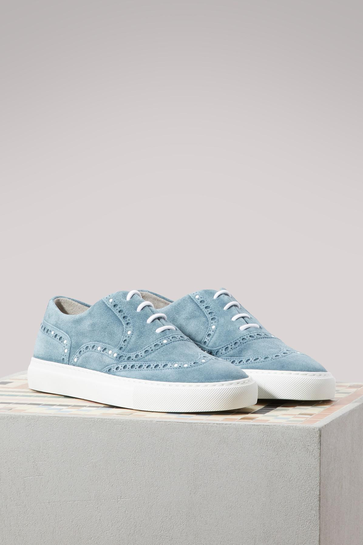 SARTORE Cinereo suede sneakers TUoG5P75Ho
