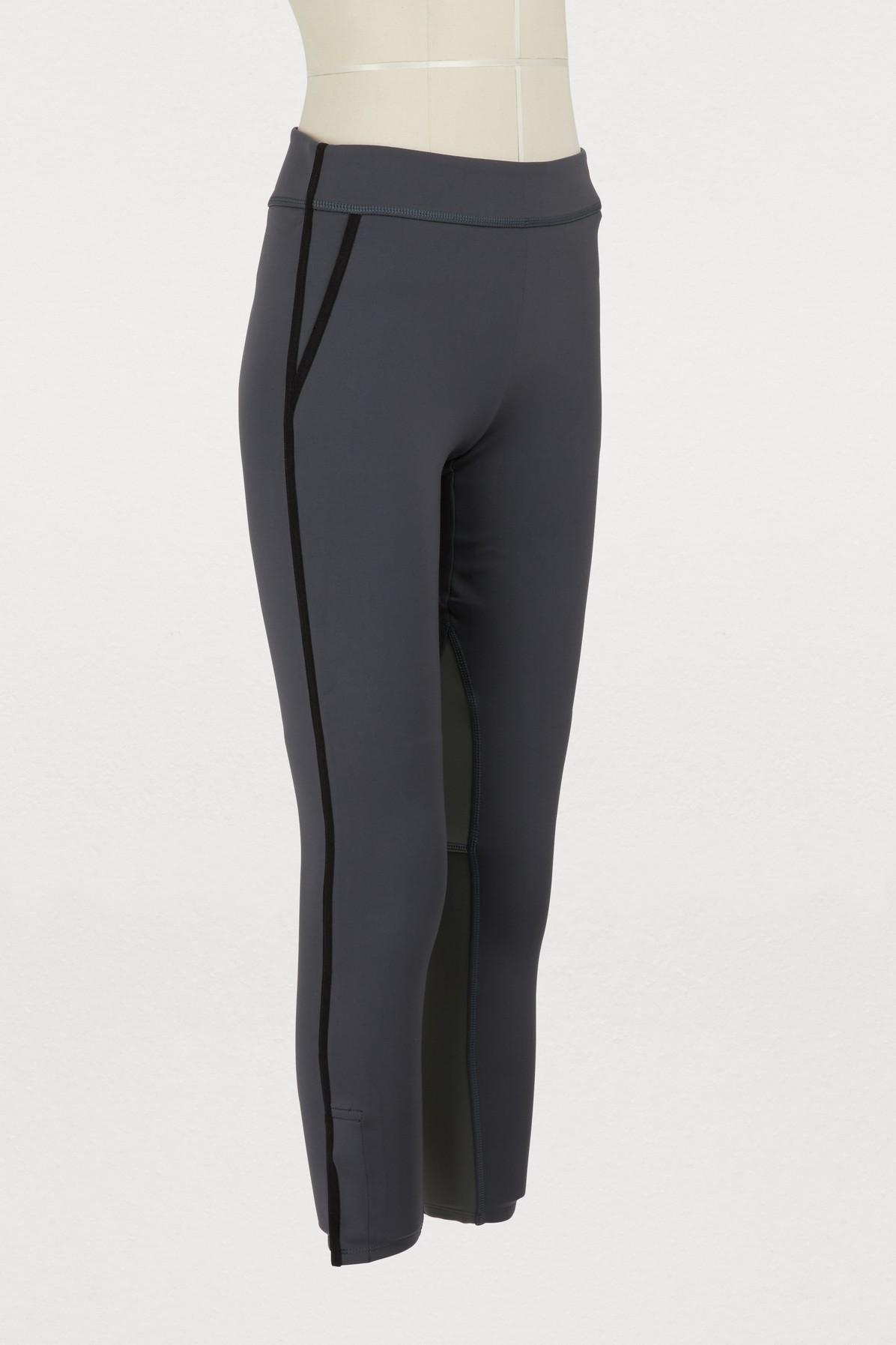 9d78b114b0630 James Perse - Multicolor Paneled Cropped leggings - Lyst. View fullscreen