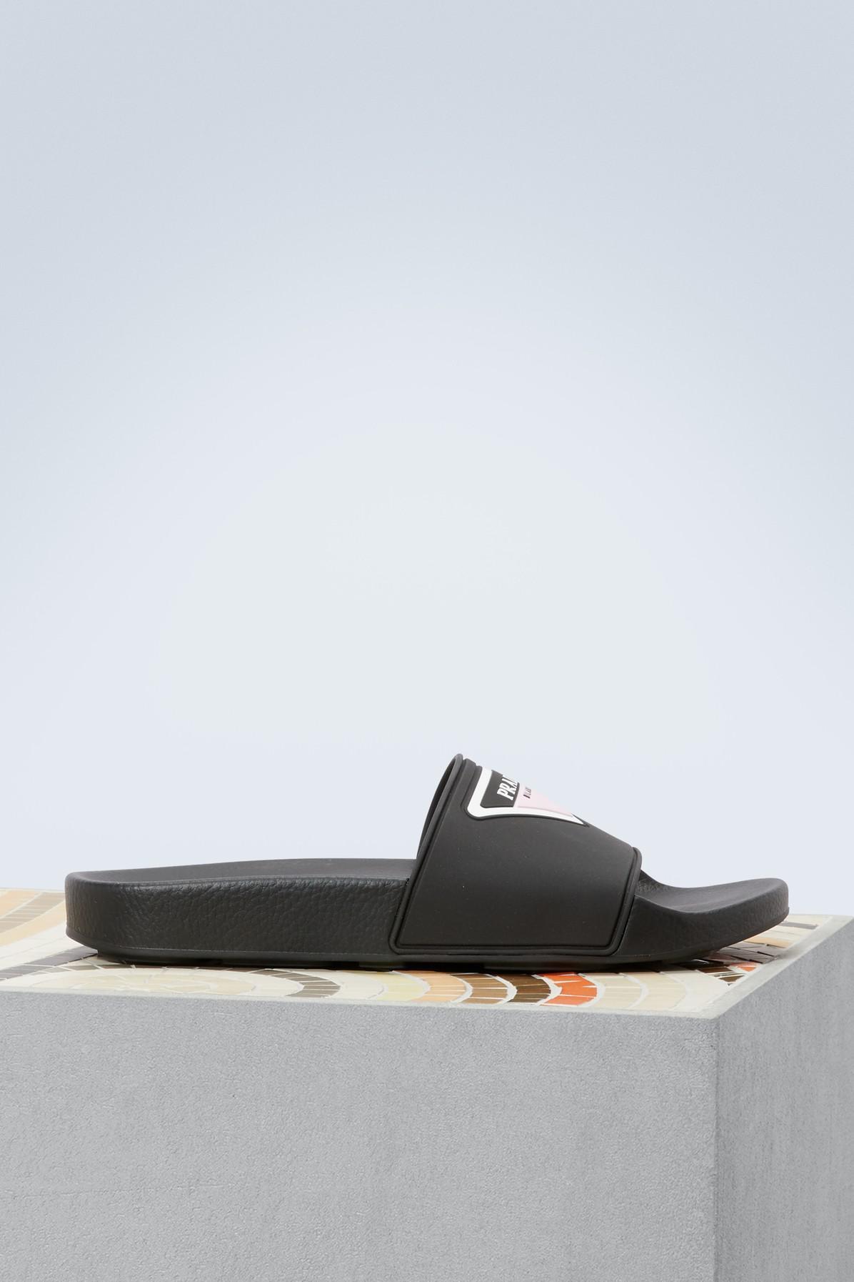 Prada Signature sandals EsoduWCi