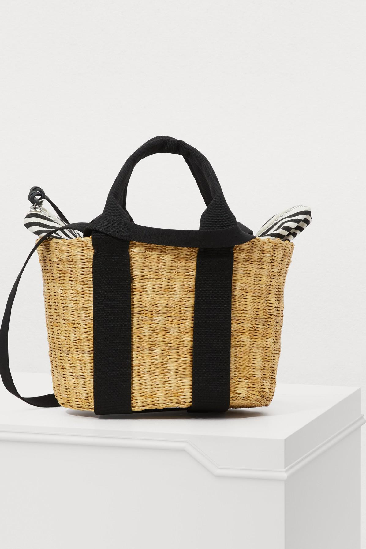 b3749de1a150 Lyst - Muuñ Tote Bag With Pouch in Black