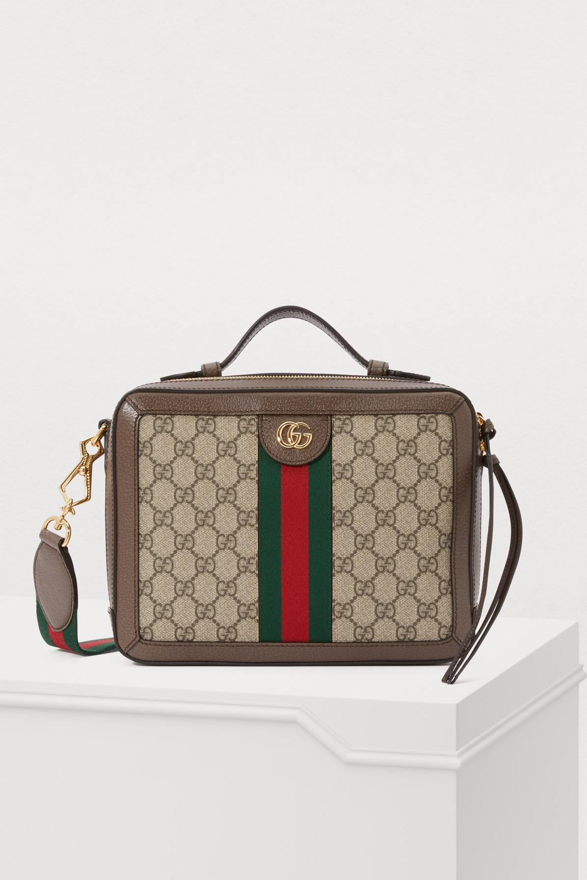 0c00cd43ade Lyst - Gucci Ophidia Shoulder Bag in Natural