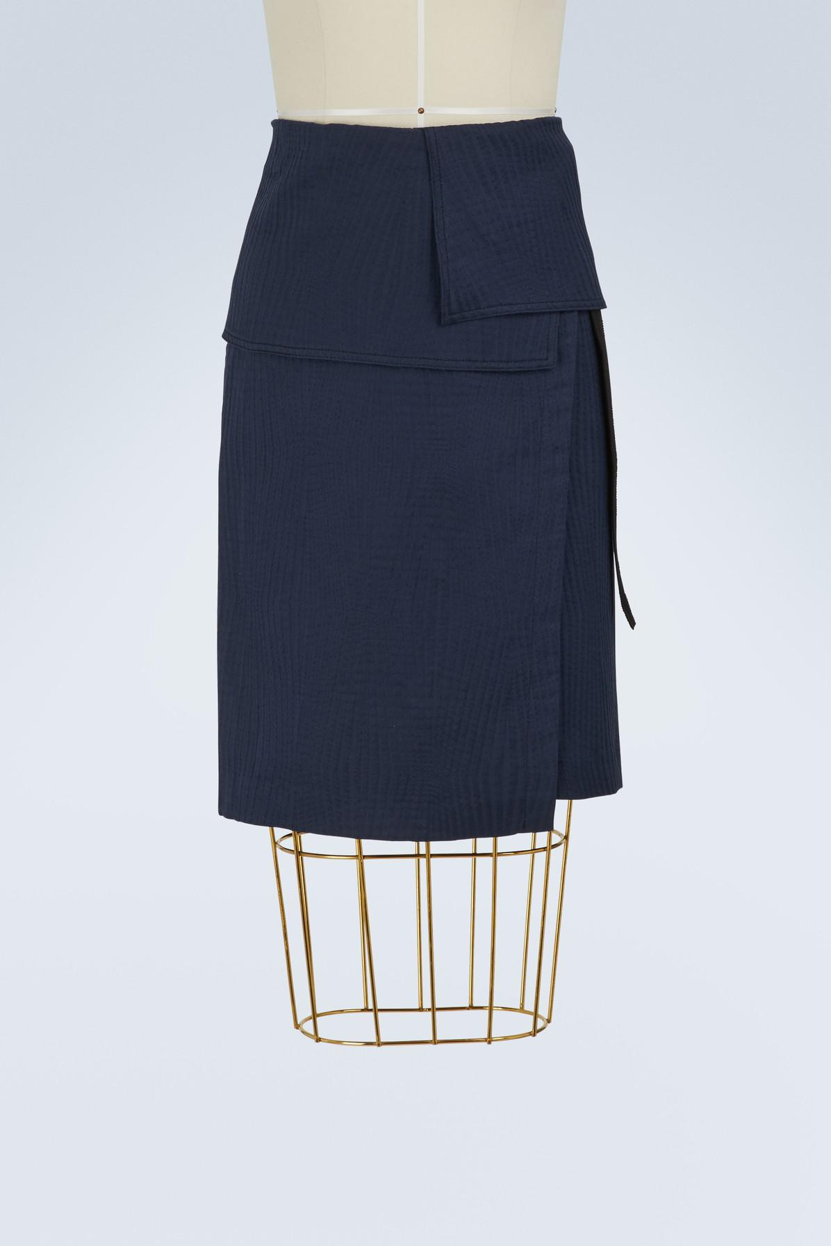 Isalys cotton wrap skirt Vanessa Bruno Clearance Buy Shopping Online Clearance Affordable Outlet Big Discount Cheap Price itRaCdoYEn