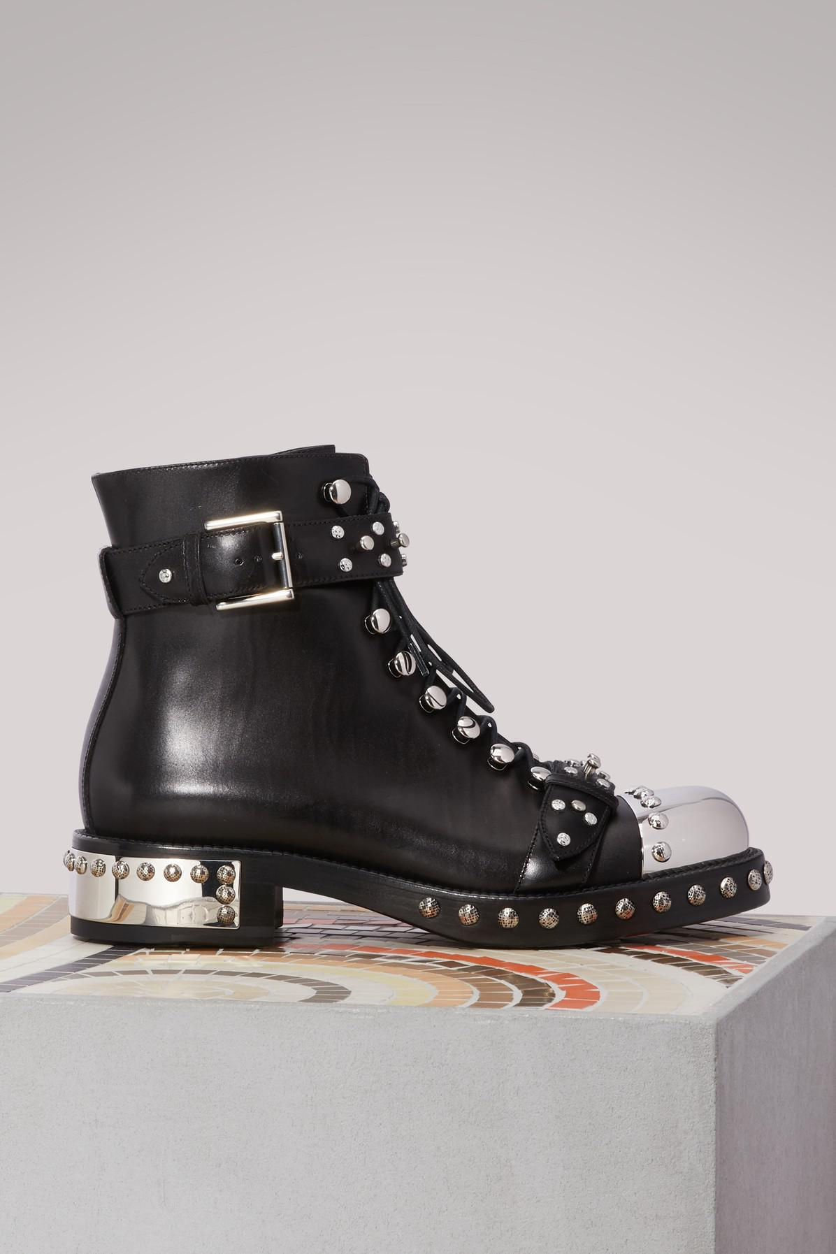 Alexander McQueenBiker ankle boots oM2St