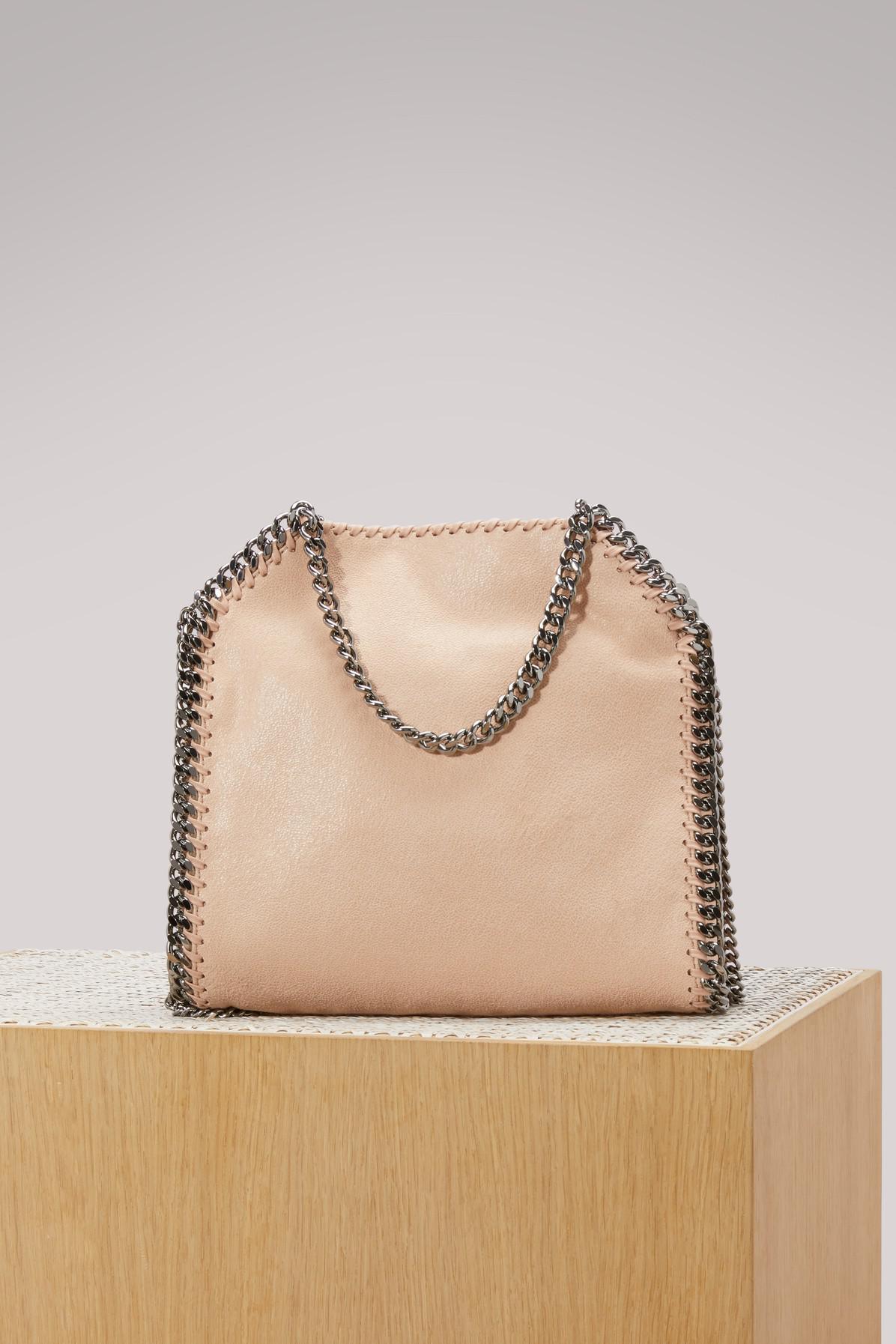 1083f720a0e ... low priced f5634 1e06f Stella McCartney - Natural Falabella Shaggy Deer  Mini Tote Bag - Lyst ...