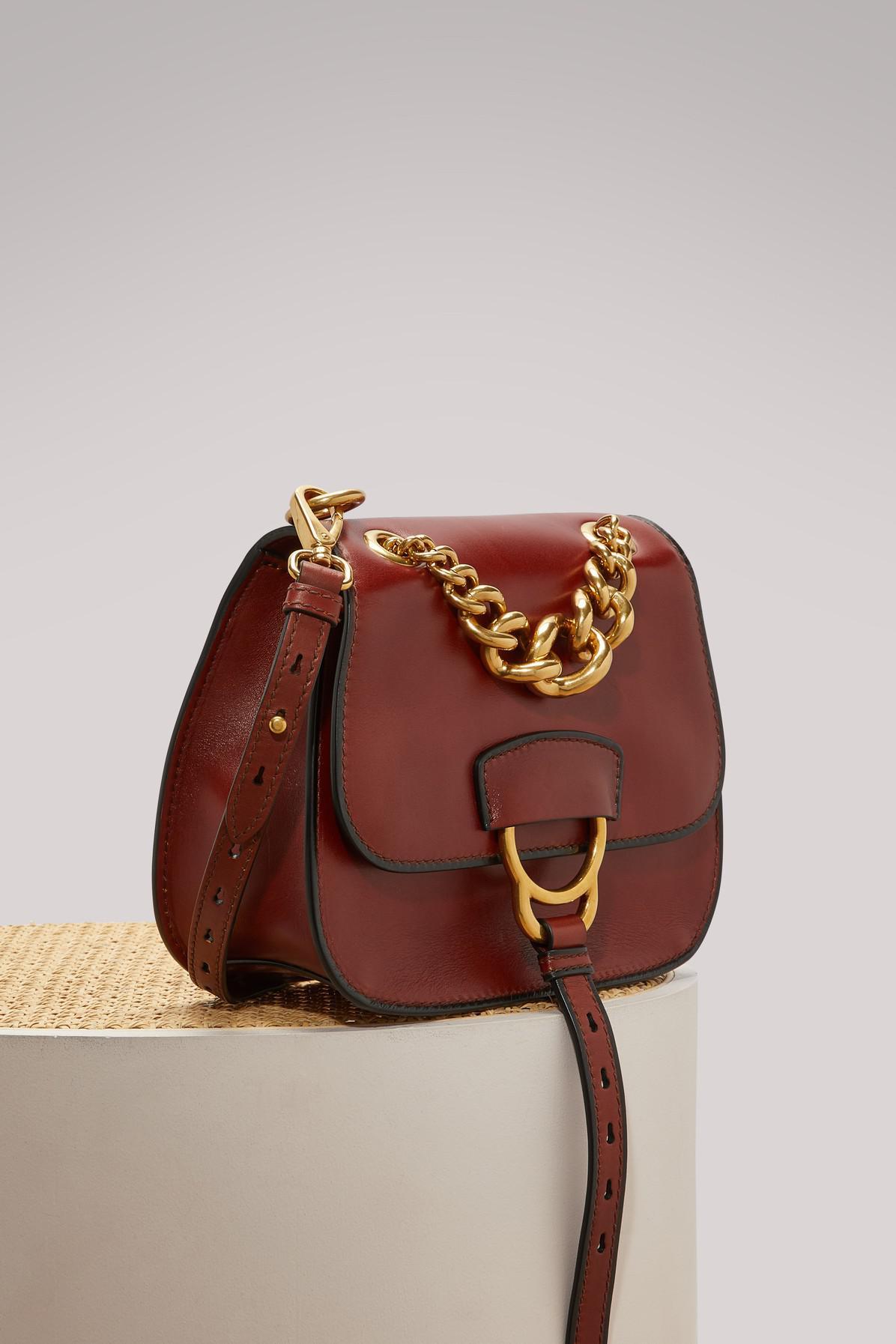 27b7d7732eea Miu Miu Dahlia Crossbody Bag - Lyst