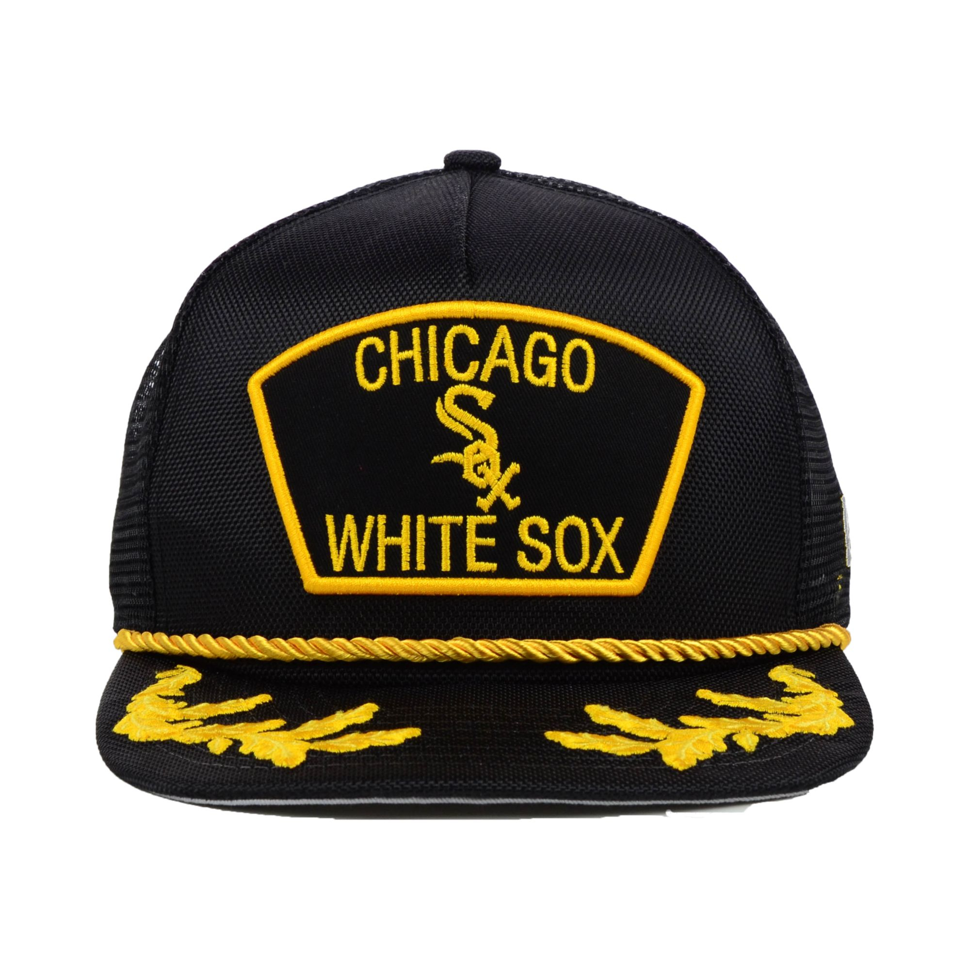 buy online 085c7 5d974 ... sweden lyst ktz chicago white sox mlb 9fifty snapback cap in yellow for  men 1db24 71ac9
