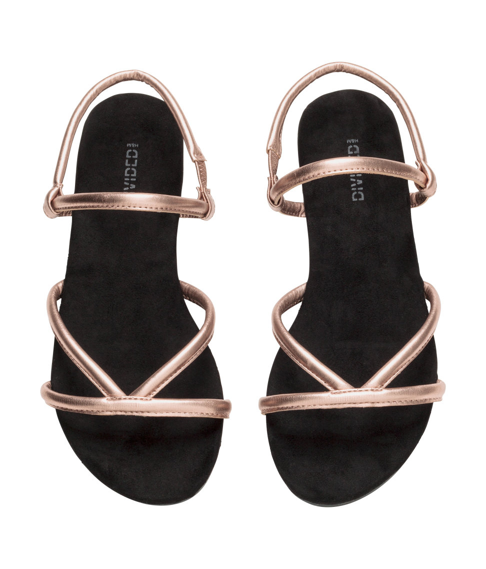 Lyst - H&M Sandals in Pink