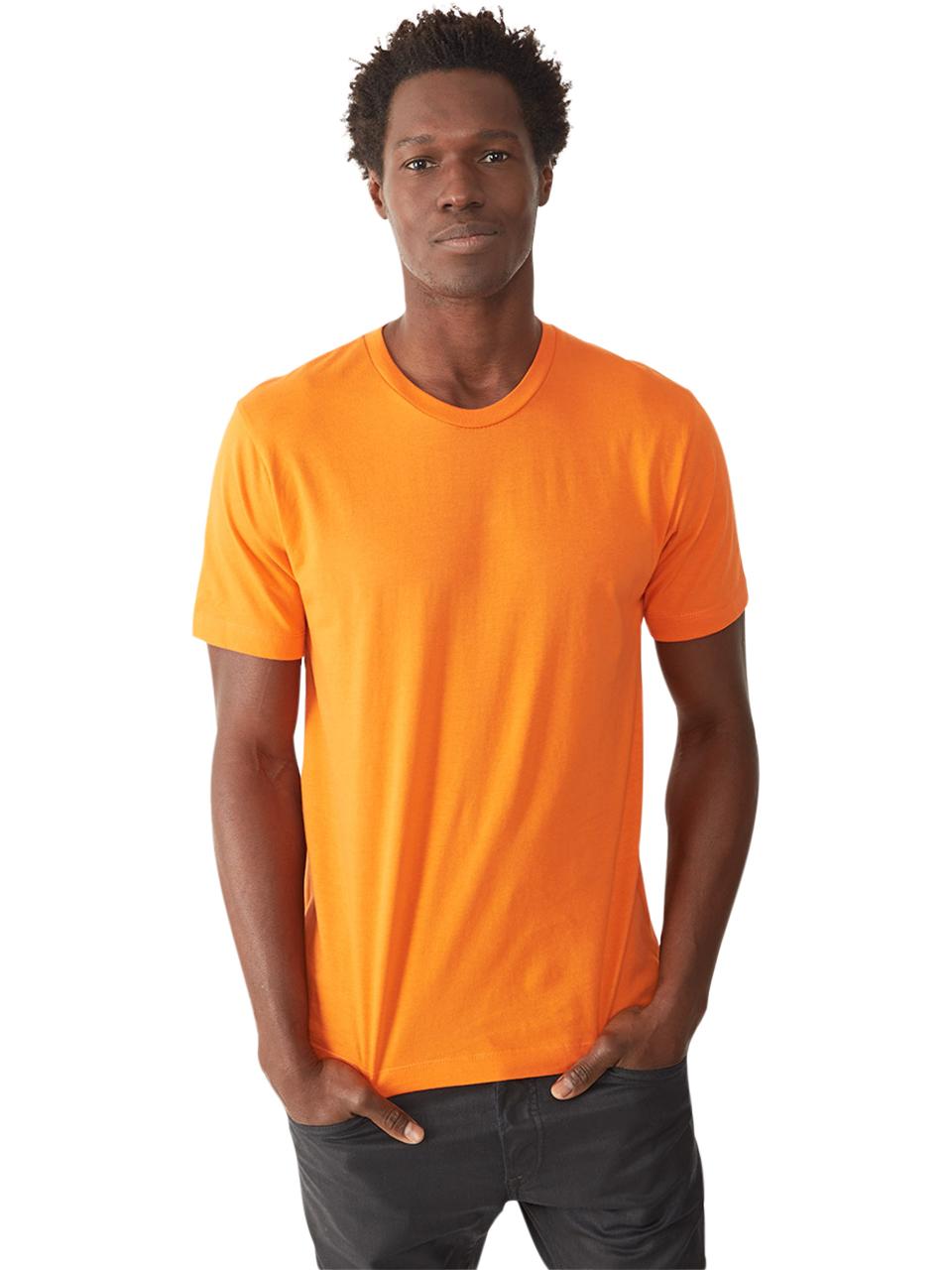 Alternative apparel Basic Mens Crew T-shirt in Orange for ...