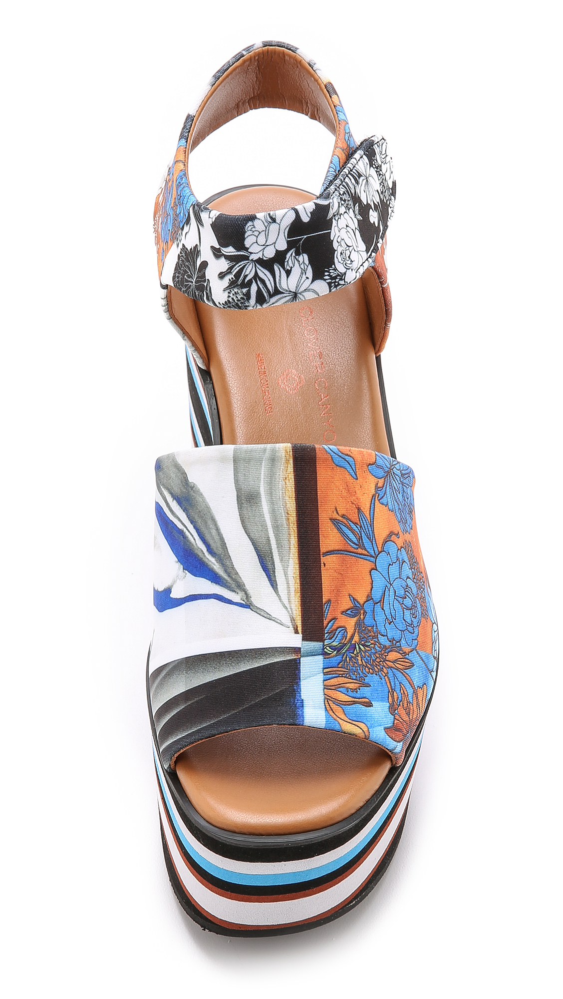 Clover Canyon Printed Neoprene Sandals