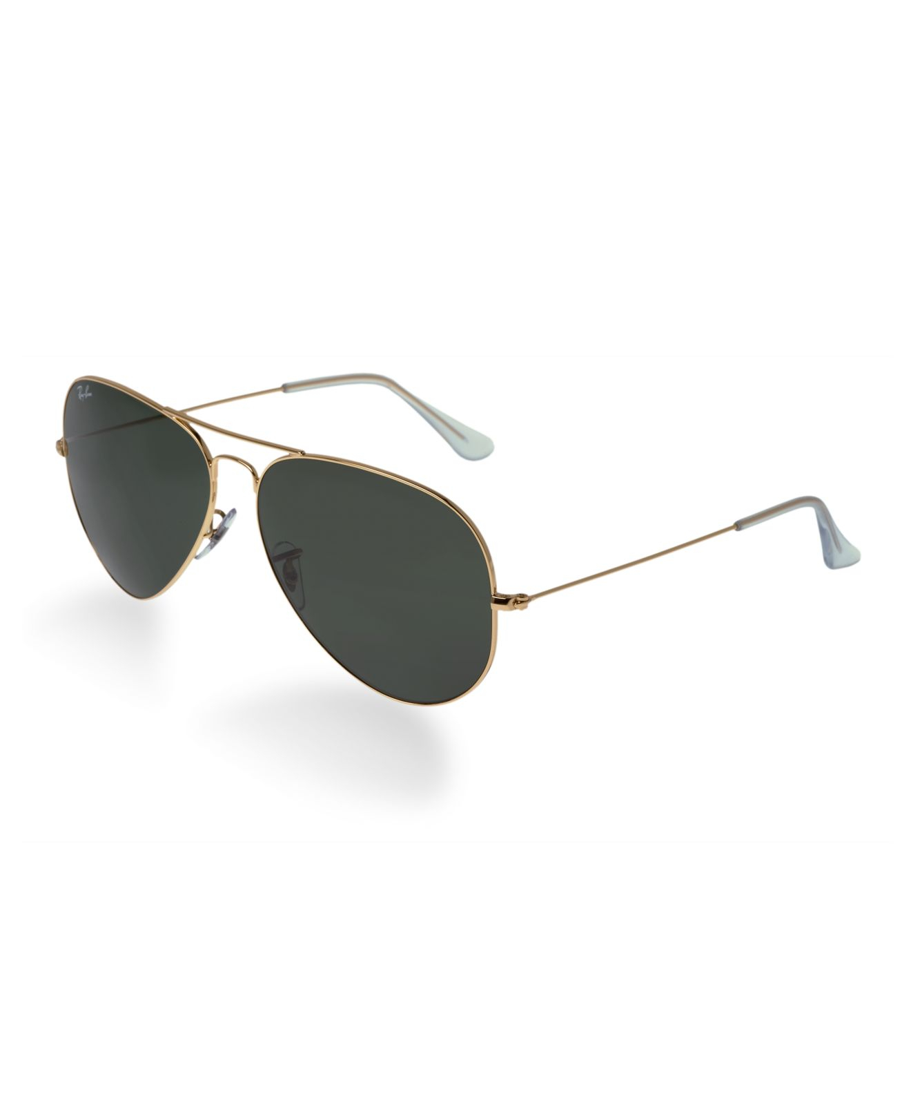 lyst ray ban rb3025 aviator large metal 58mm sunglasses in metallic. Black Bedroom Furniture Sets. Home Design Ideas