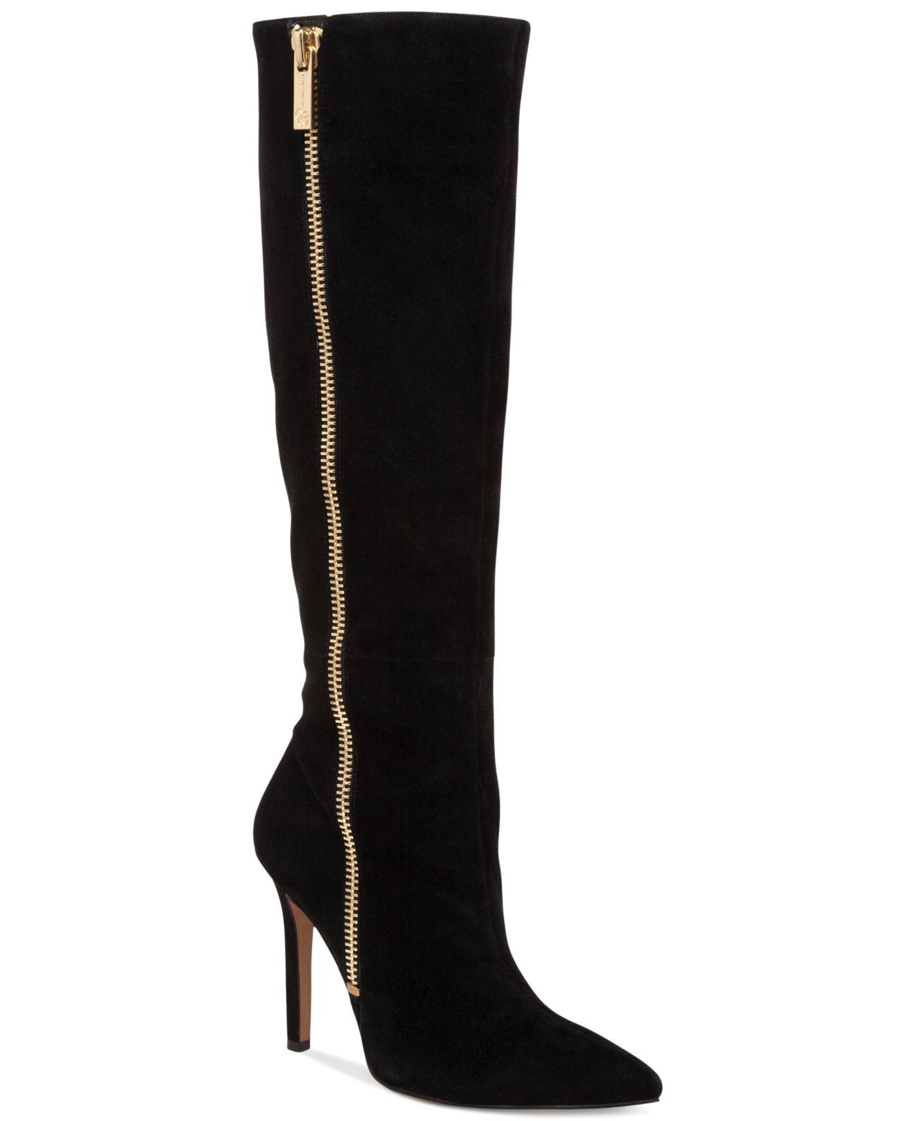 d66cd1aa7ee Lyst - Jessica Simpson Capitani Dress Boots in Black