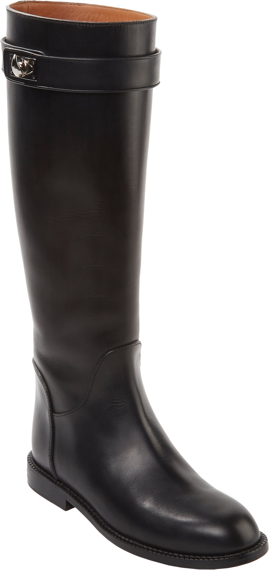 givenchy shark tooth knee boots in black lyst